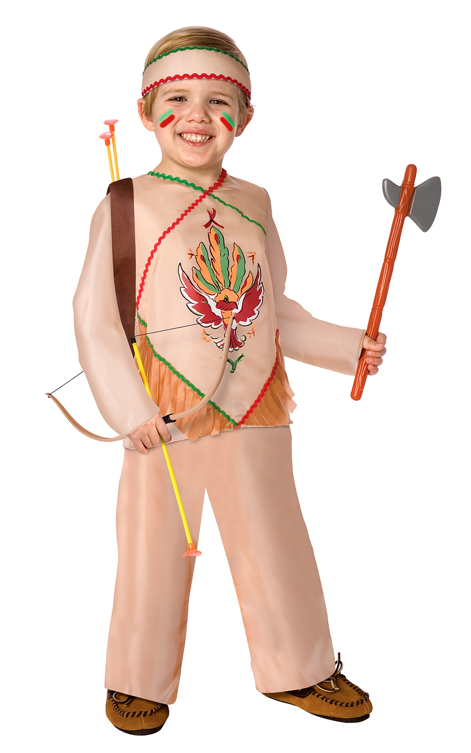 Indian Child Costume One Size (Fits Sizes 4-8)