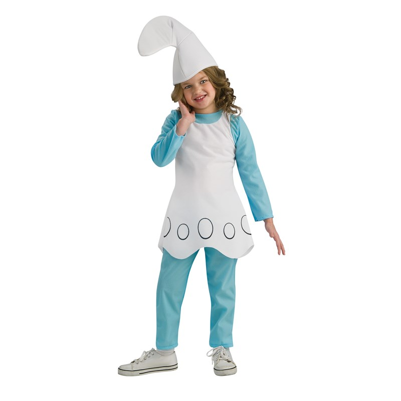 The Smurfs-Smurfette Child Costume Medium (8-10)