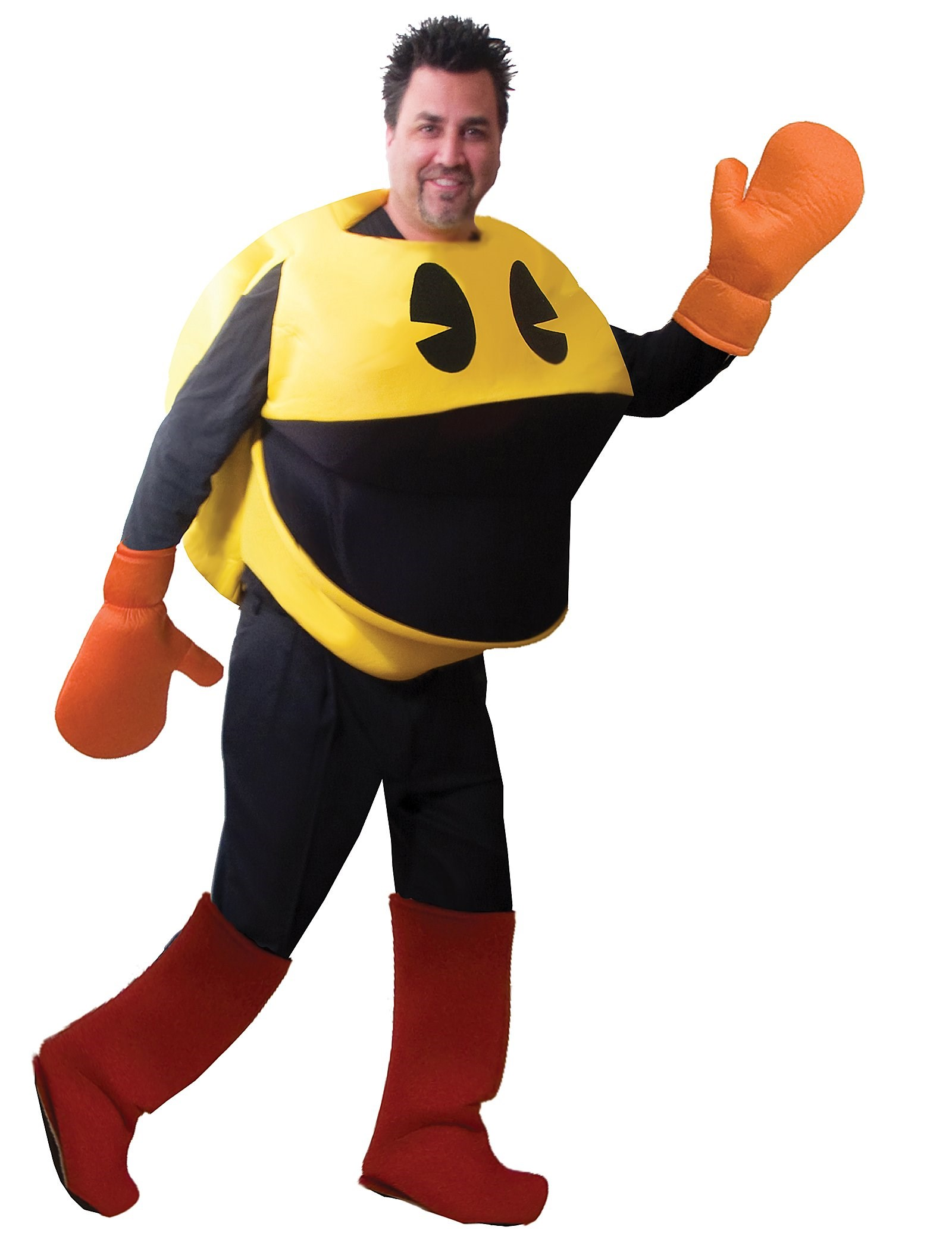 Image of Pac-Man Deluxe Adult Costume Standard (One Size)
