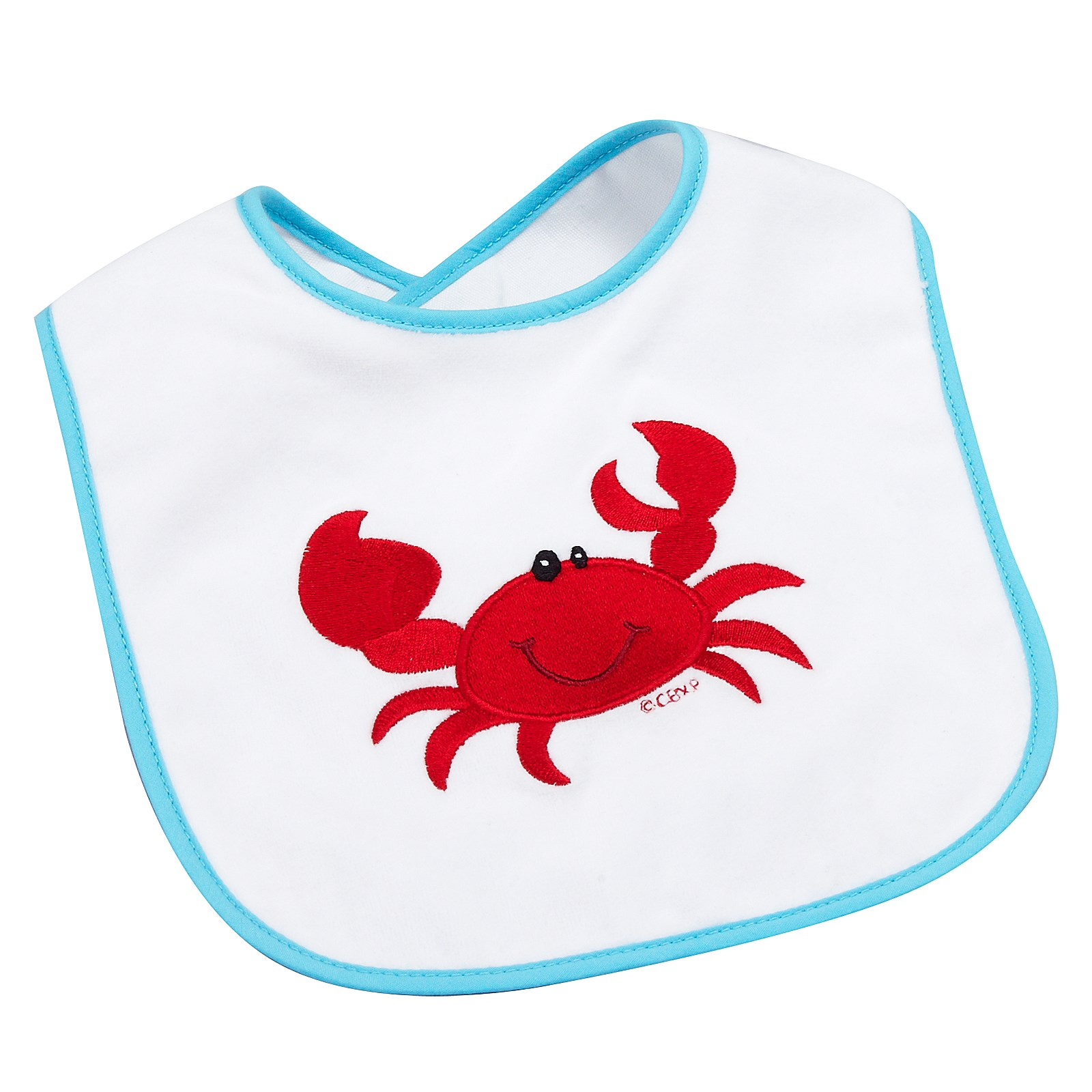 Image of Anchors Aweigh Crab Bib