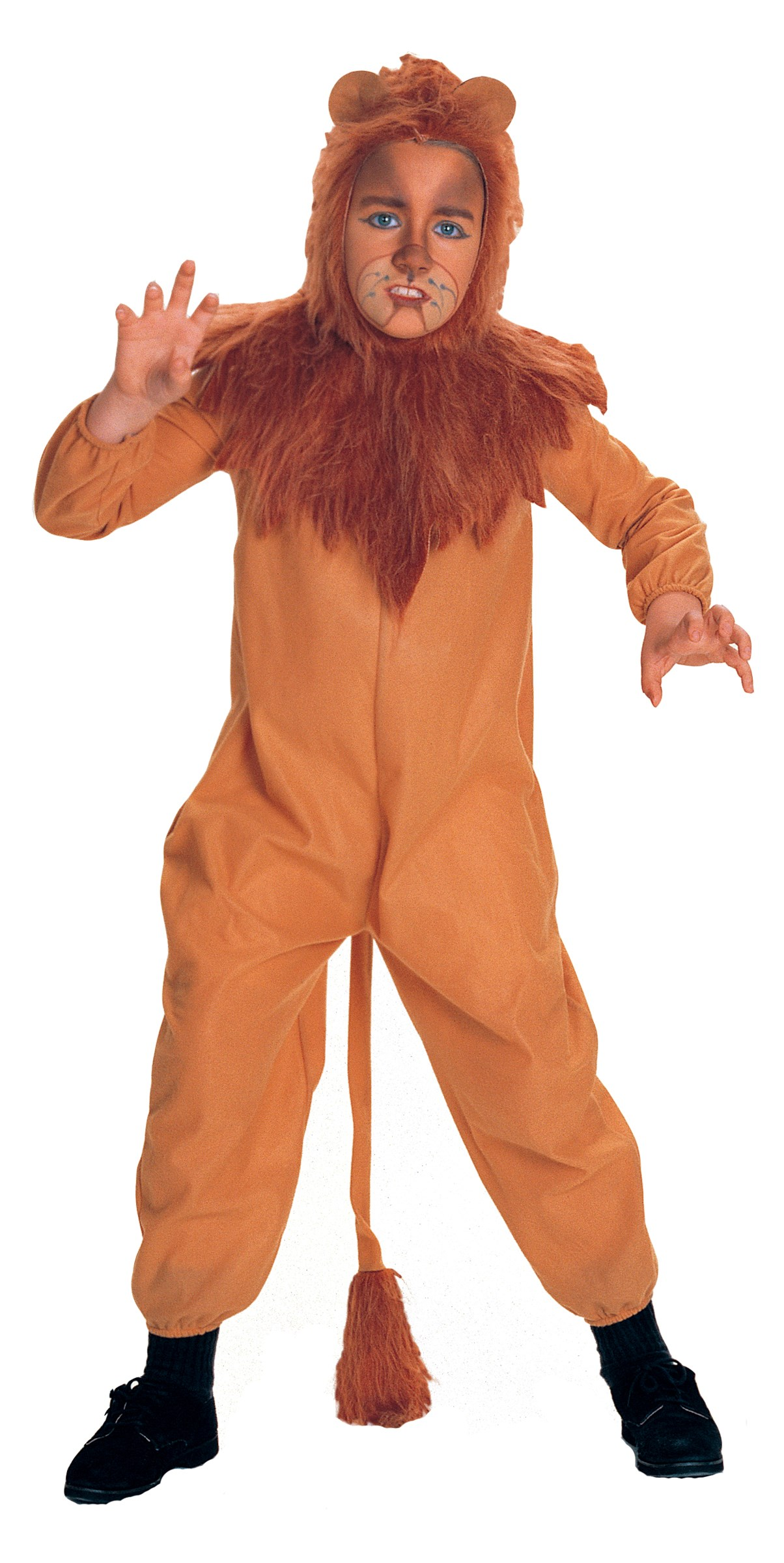 The Wizard of Oz Cowardly Lion Child Costume Small
