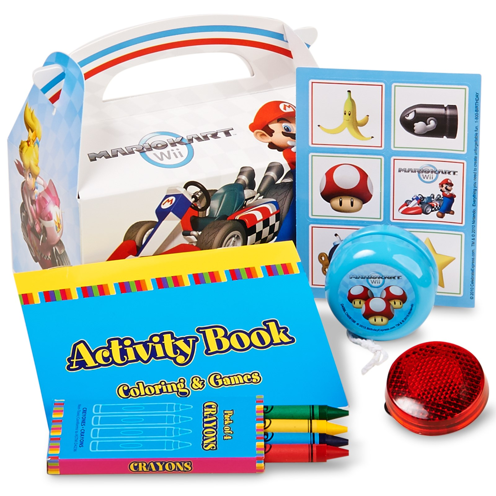 Mario Kart Wii Filled Party Favor Box