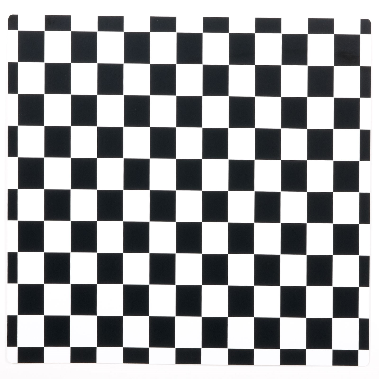 Image of Black and White Check Activity Placemats