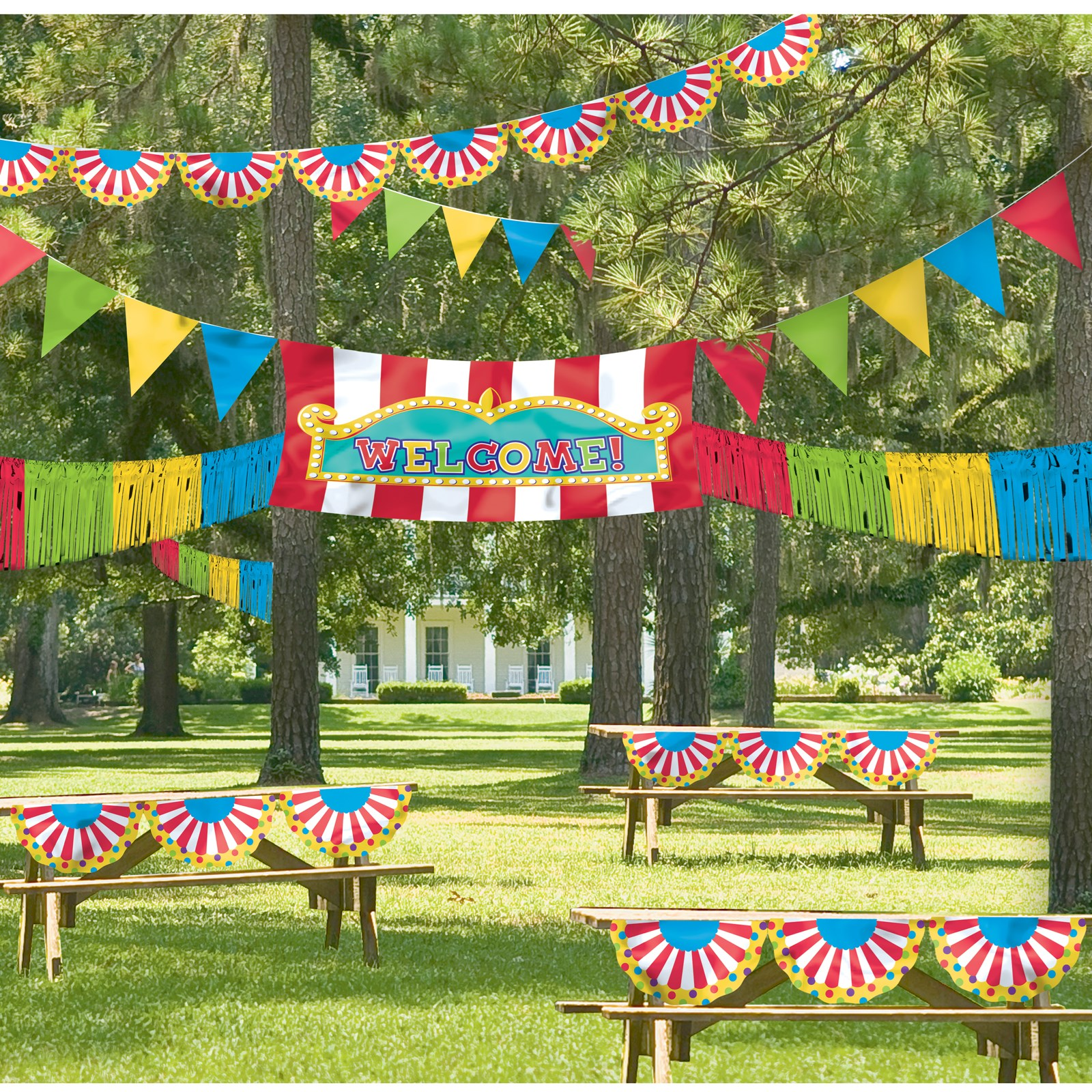 Image of Giant Outdoor Carnival Decorating Kit