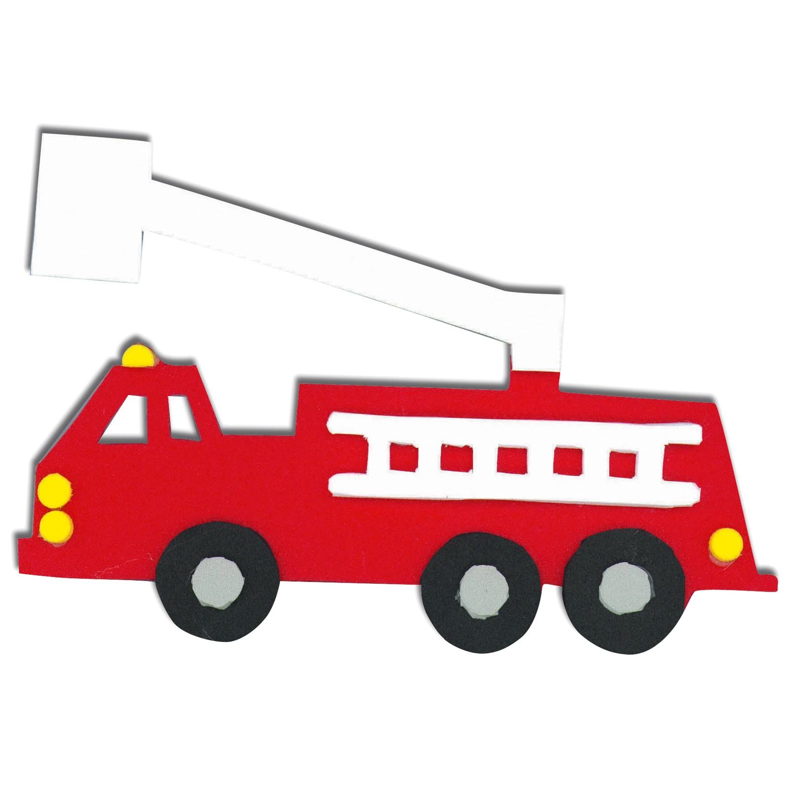 Image of Fire Trucks Foam Activity Kit