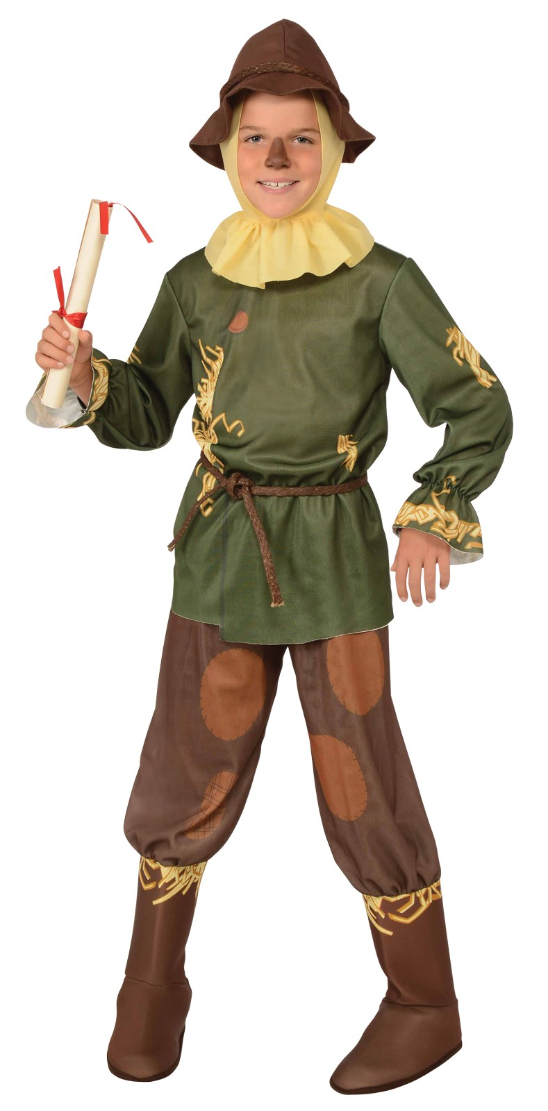 The Wizard of Oz Scarecrow Child Costume Large