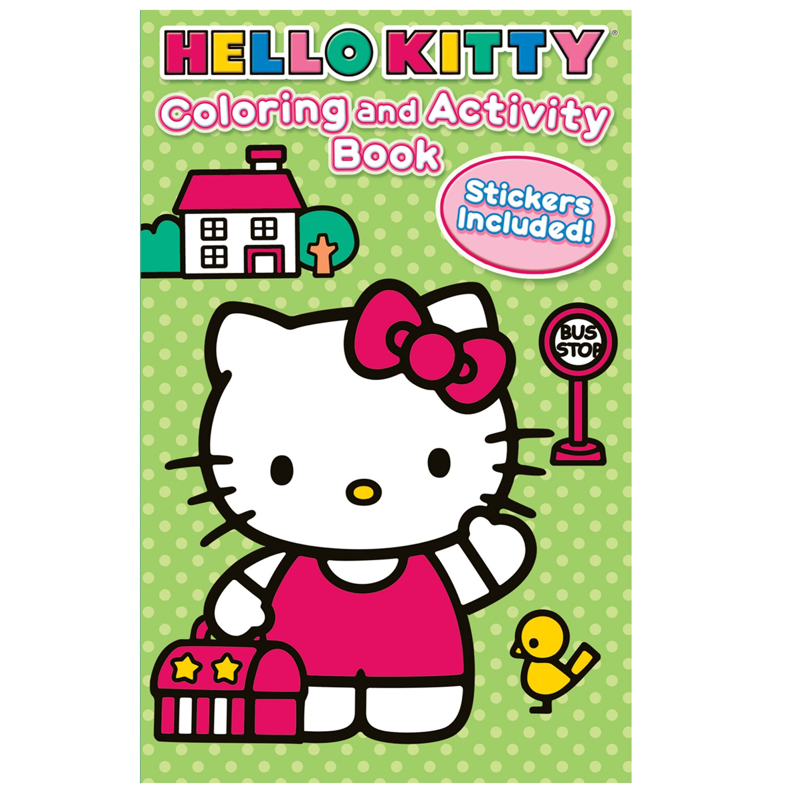 Image of Hello Kitty Coloring and Activity Book with Crayons