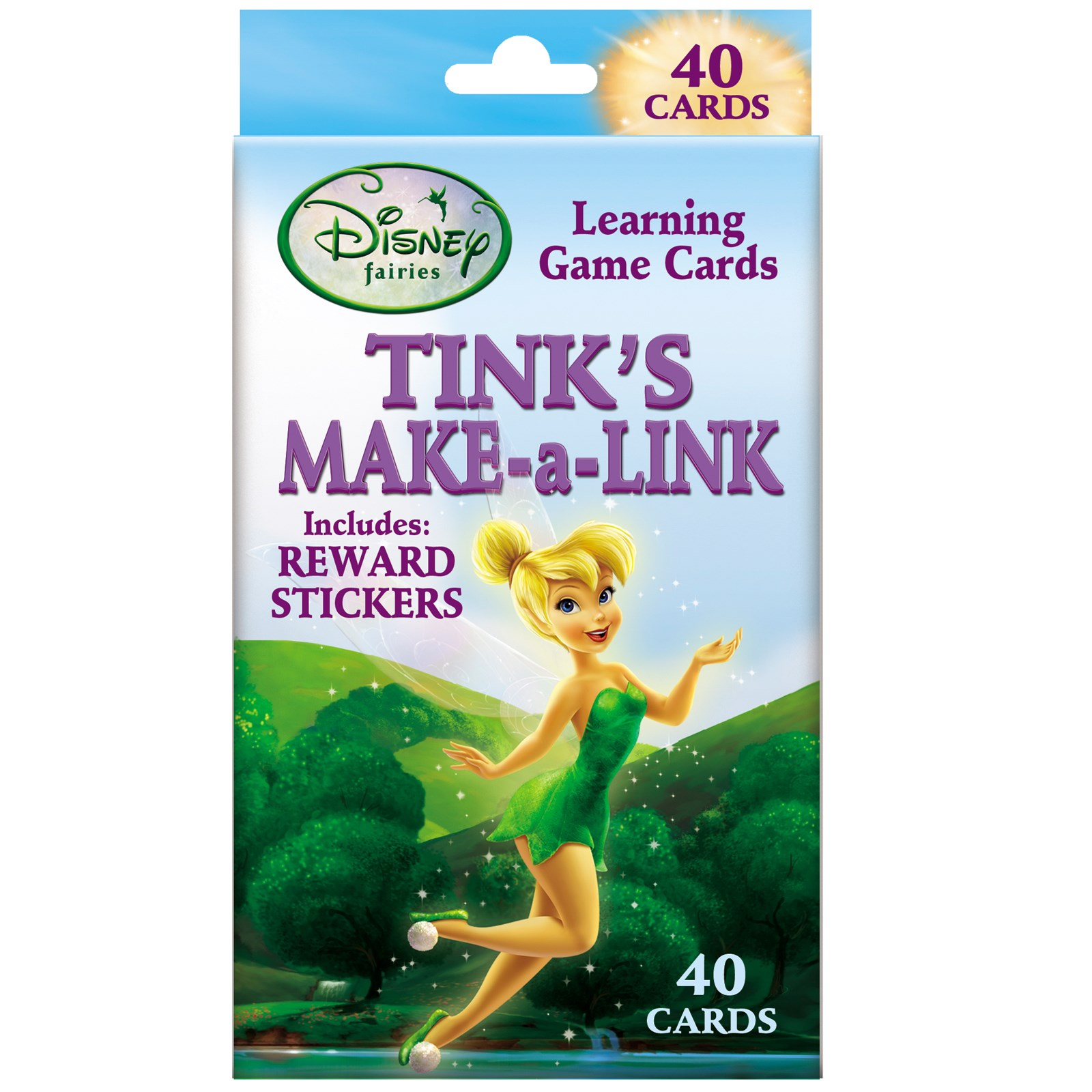 Image of Disney Tinker Bell Make-A-Link Learning Game Cards