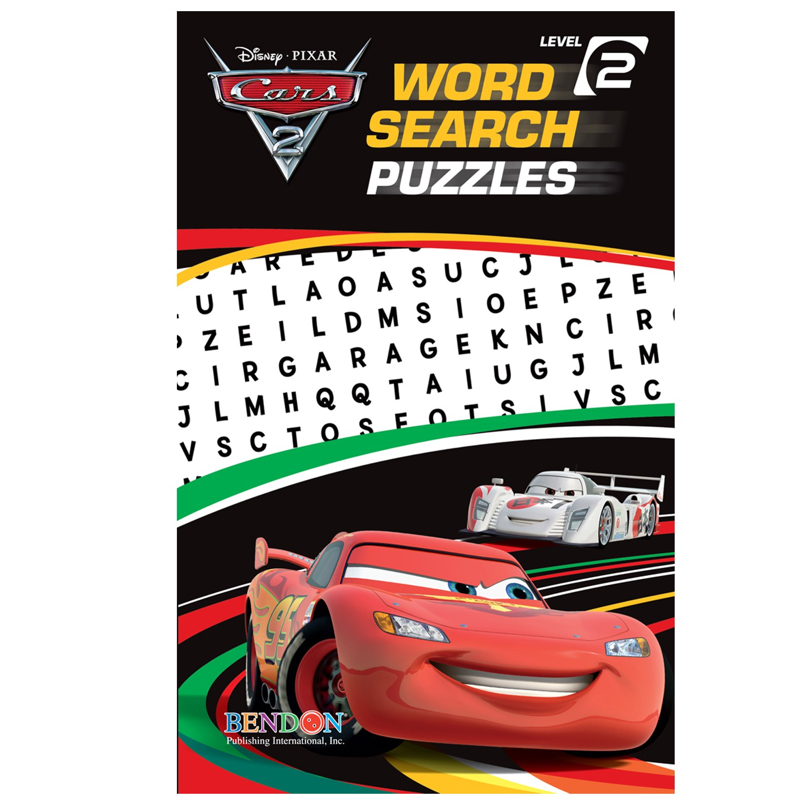Image of Disney Cars Word Search Book