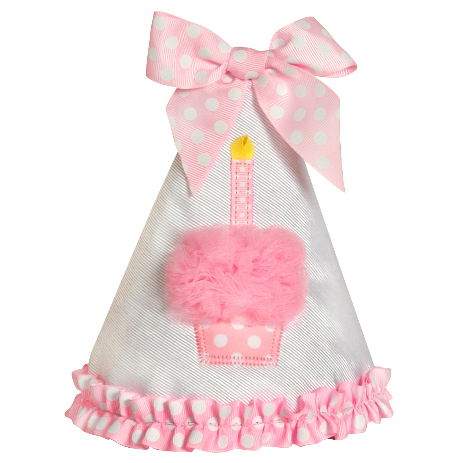 Image of Pink Cupcake 1st Birthday Hat