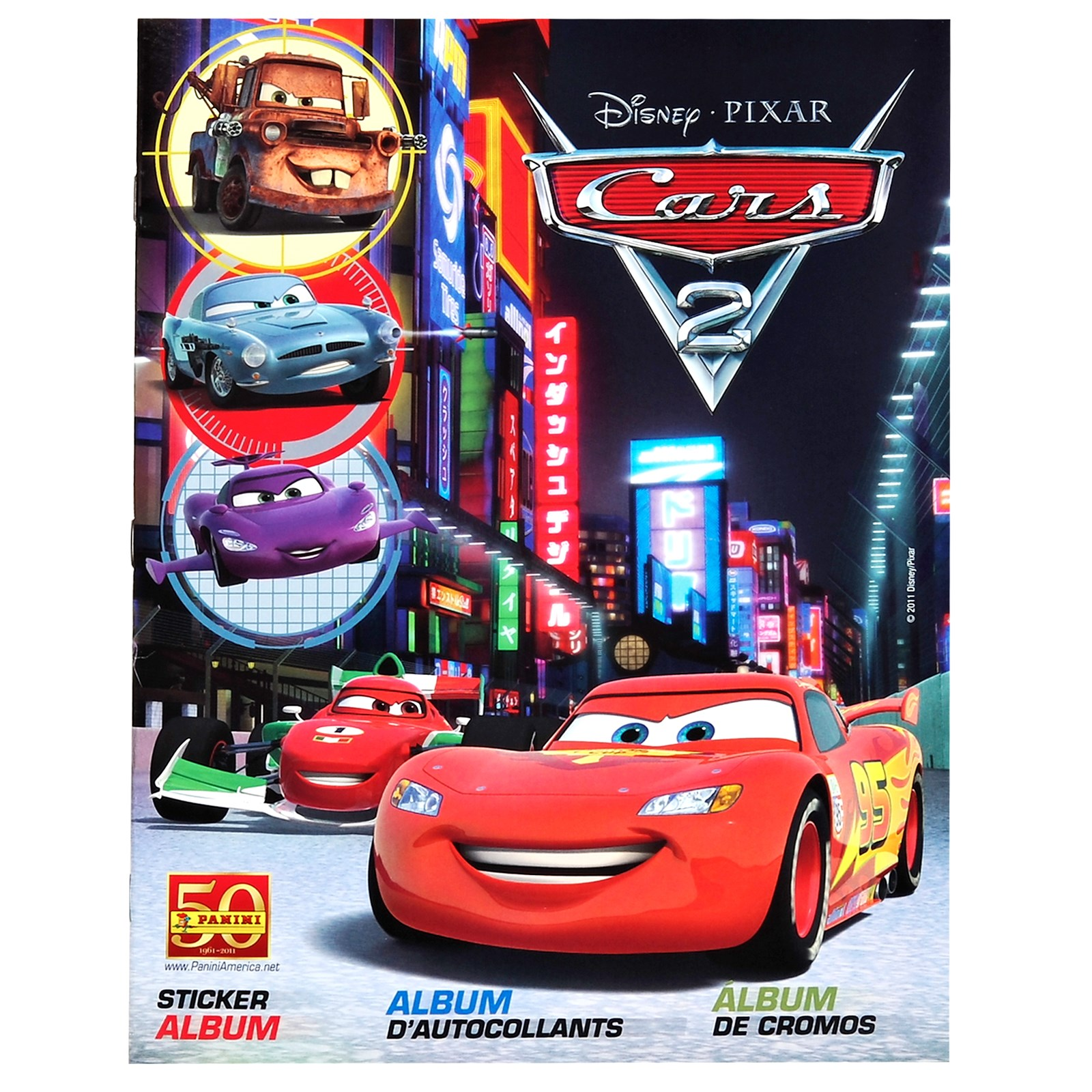 Image of Disney Cars 2 Sticker Album Book