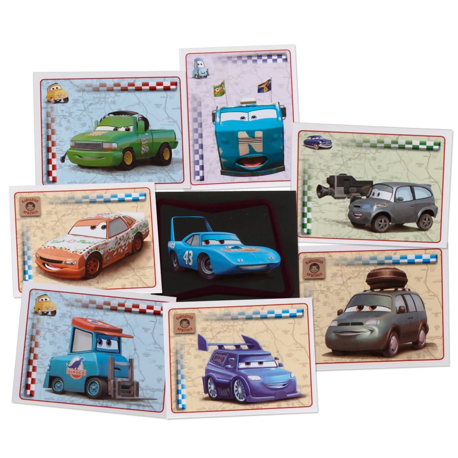 Image of Disney Cars 2 Sticker Pack