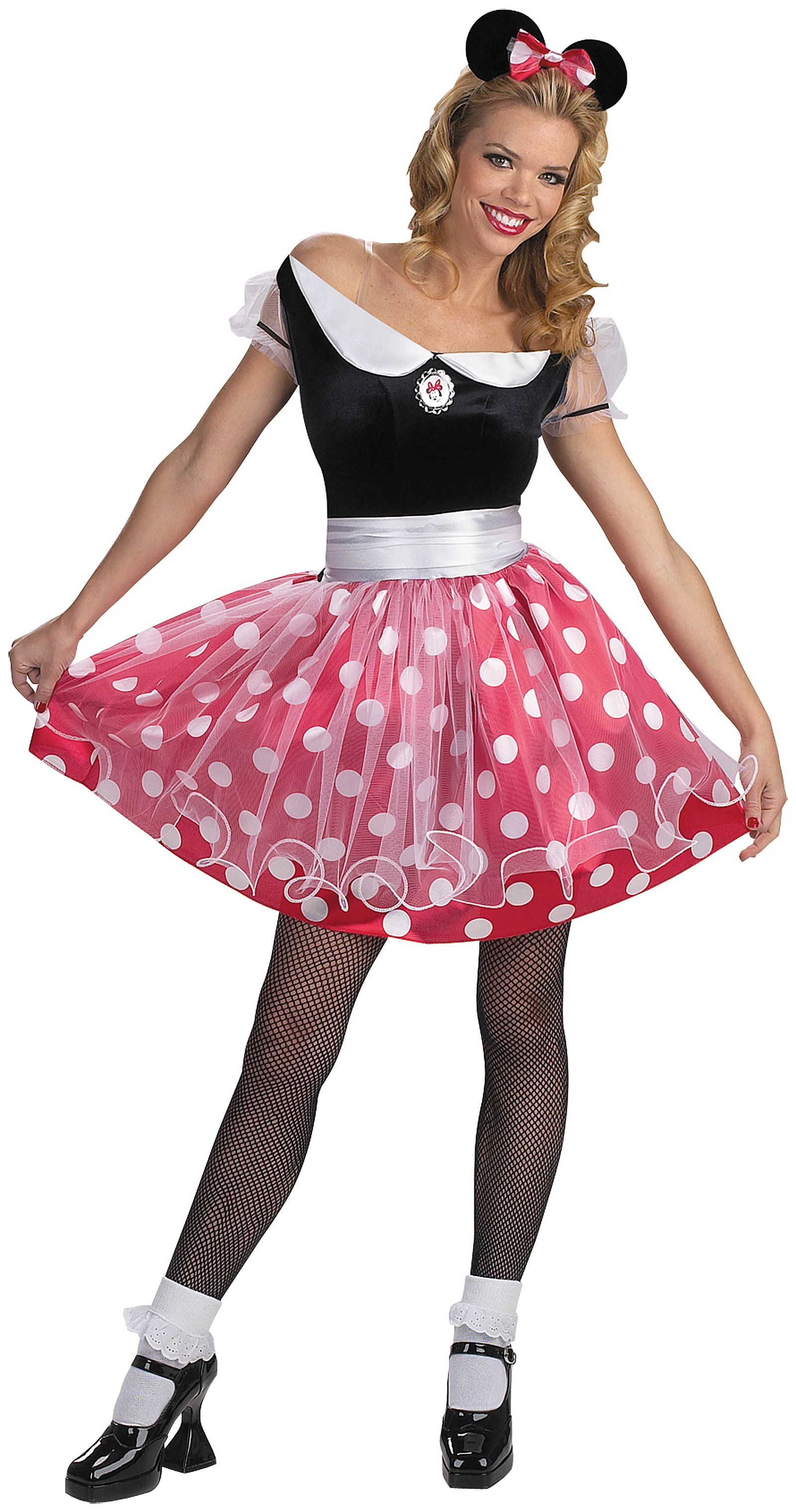 Disney Minnie Mouse Deluxe Adult Costume 12-14