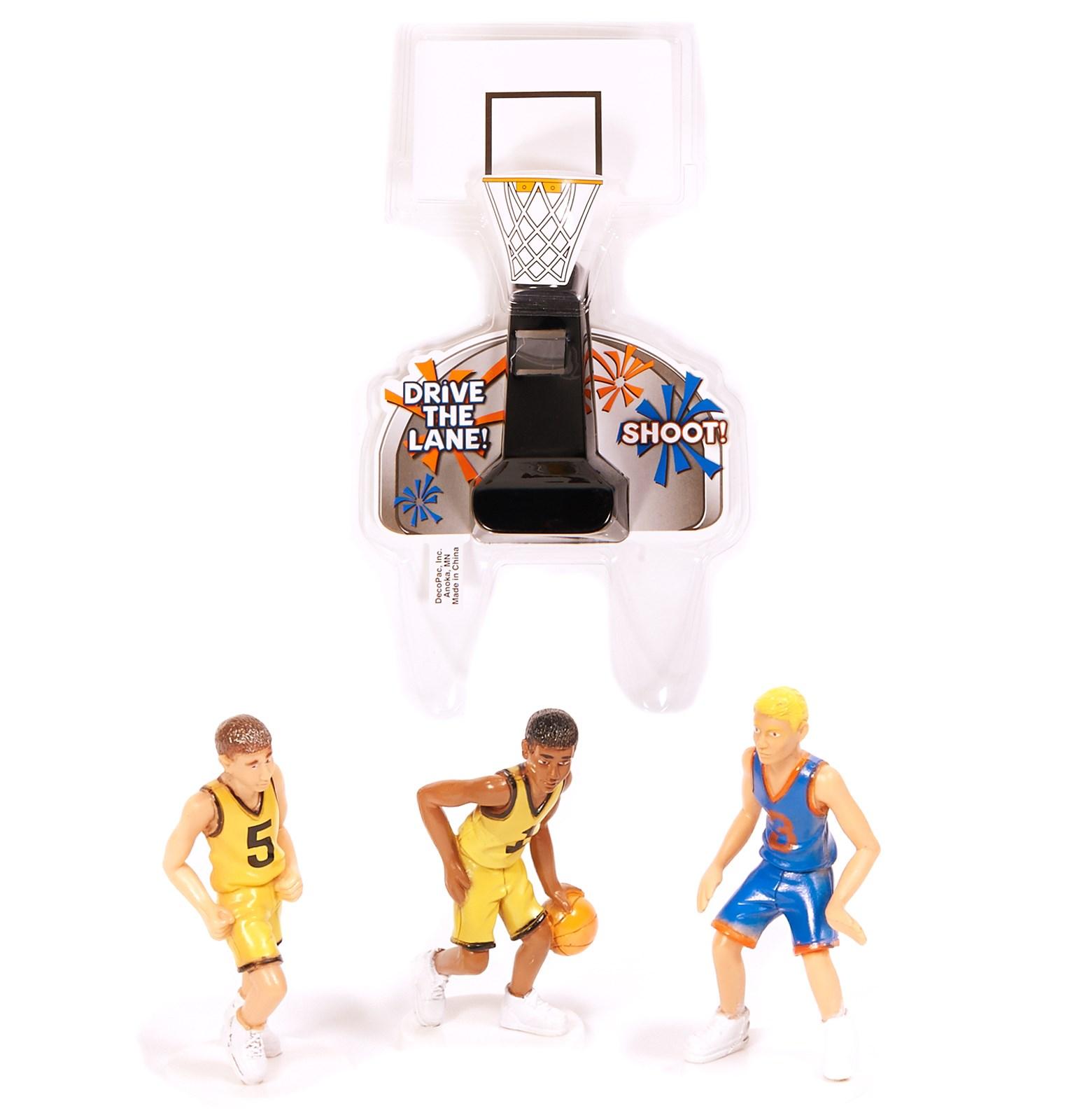 Image of Basketball Cake Topper