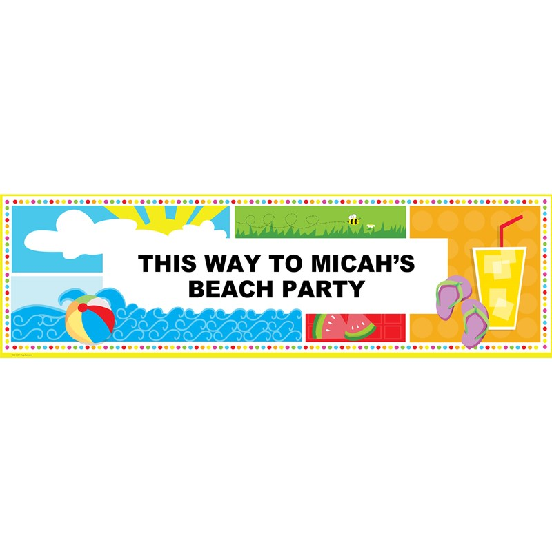 Summer Fun Personalized Banner