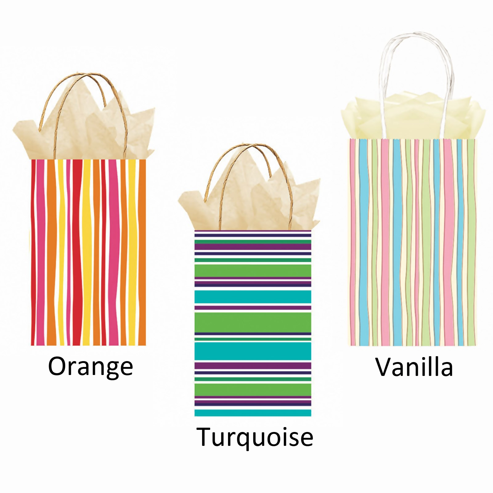 Party Bag - Striped