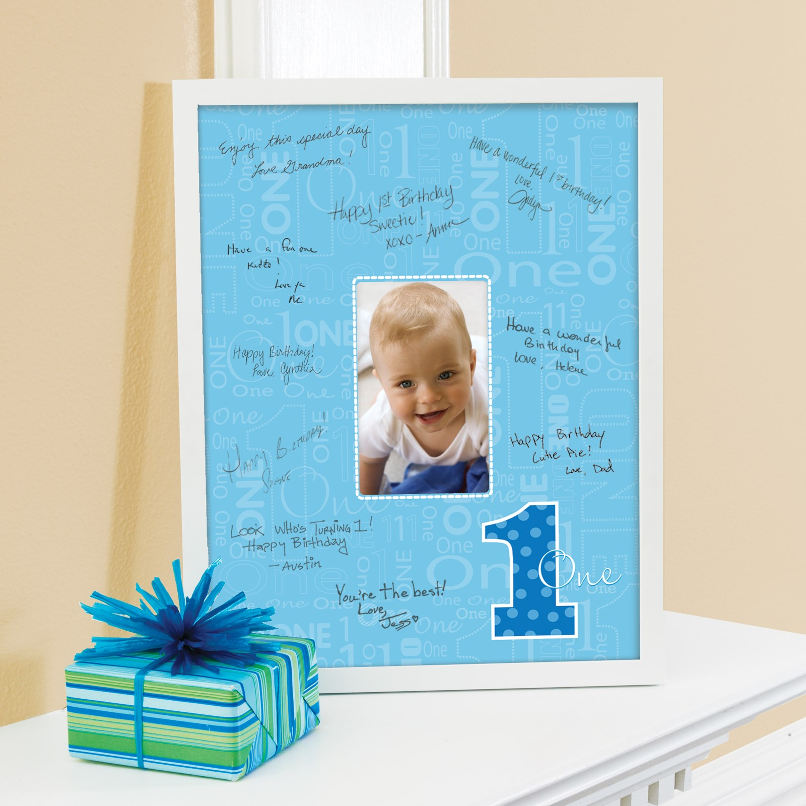 Image of Everything One Boy Framed Signature Matte
