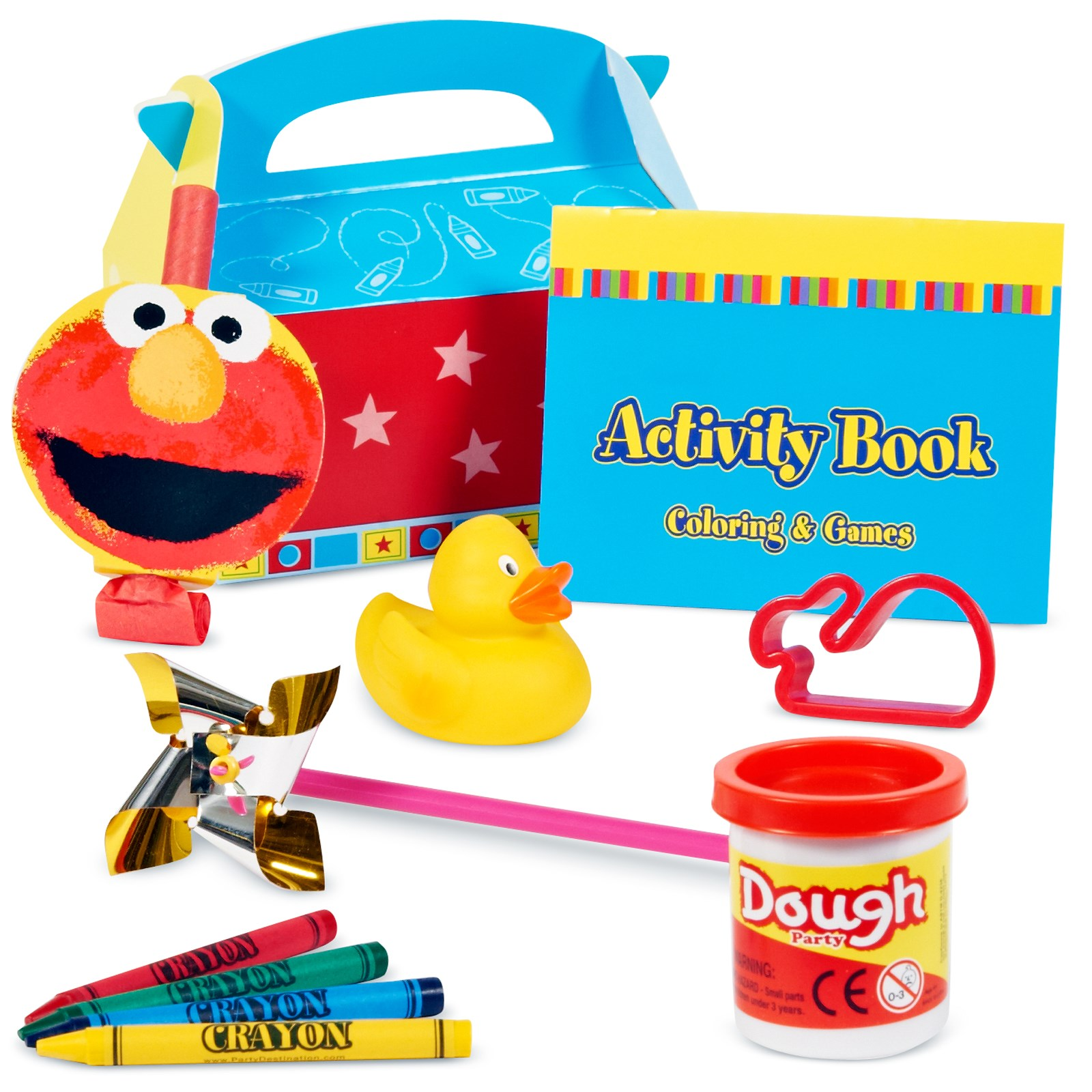 Elmo's 1st Filled Party Favor Box