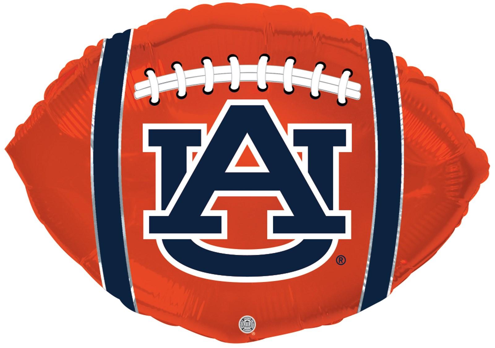 Image of Auburn Tigers Foil Football Balloon