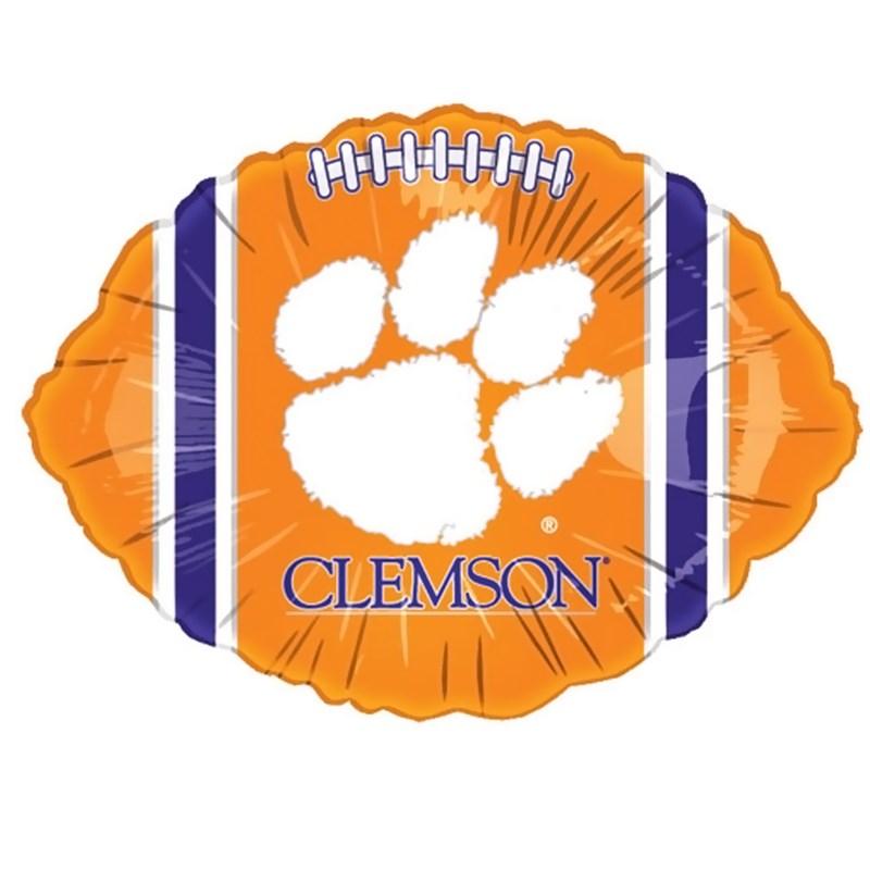 Clemson Tigers Foil Football Balloon