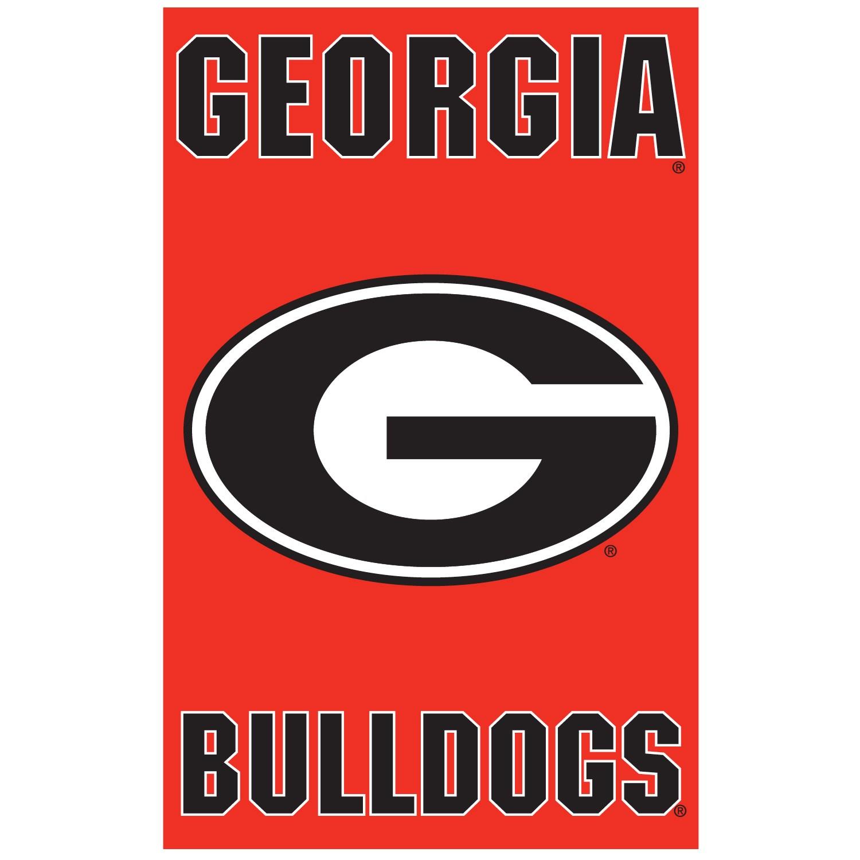 Image of Georgia Bulldogs Banner Flag