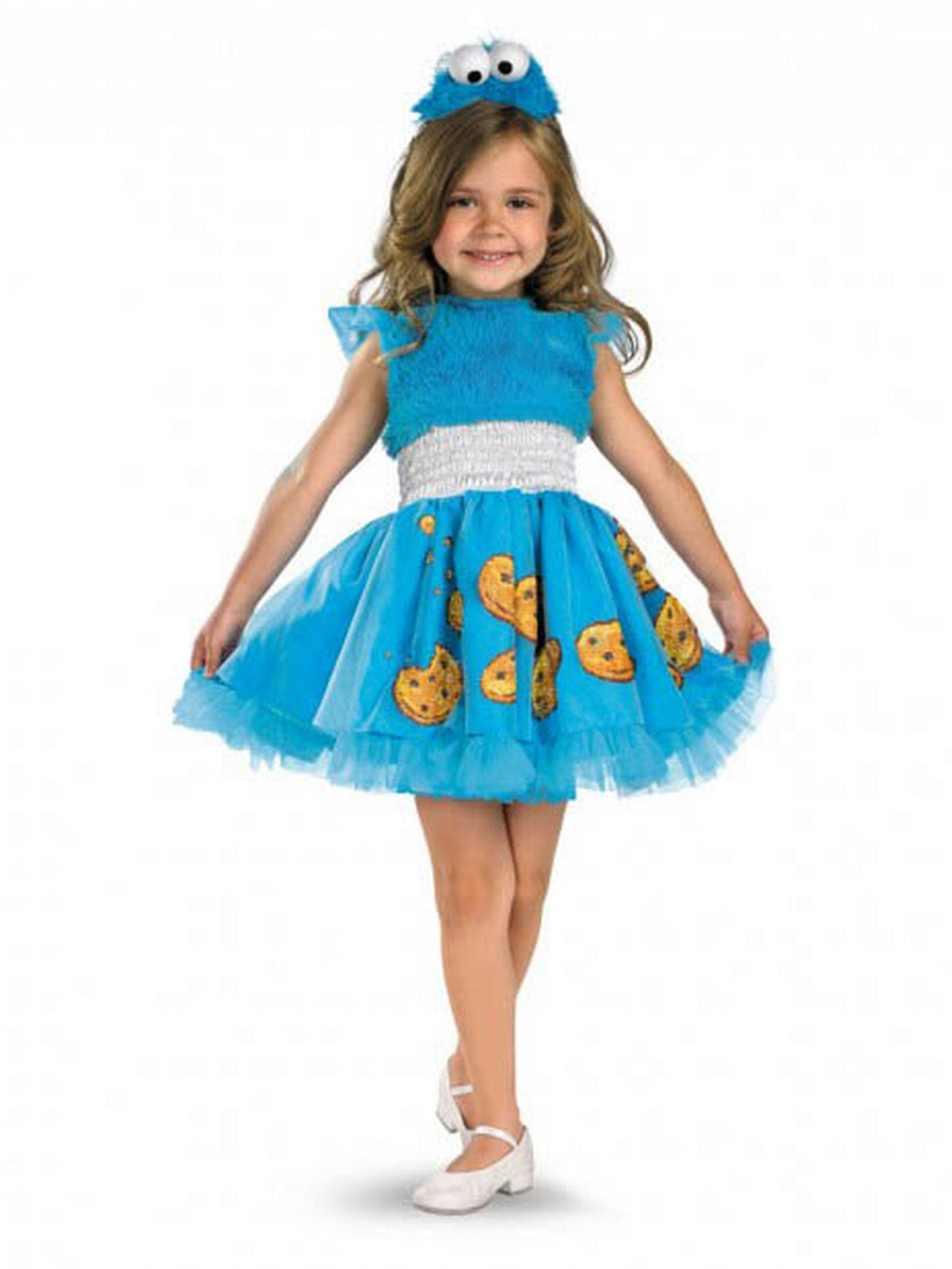 Sesame Street - Frilly Cookie Monster Toddler / Child Costume Toddler (2T)