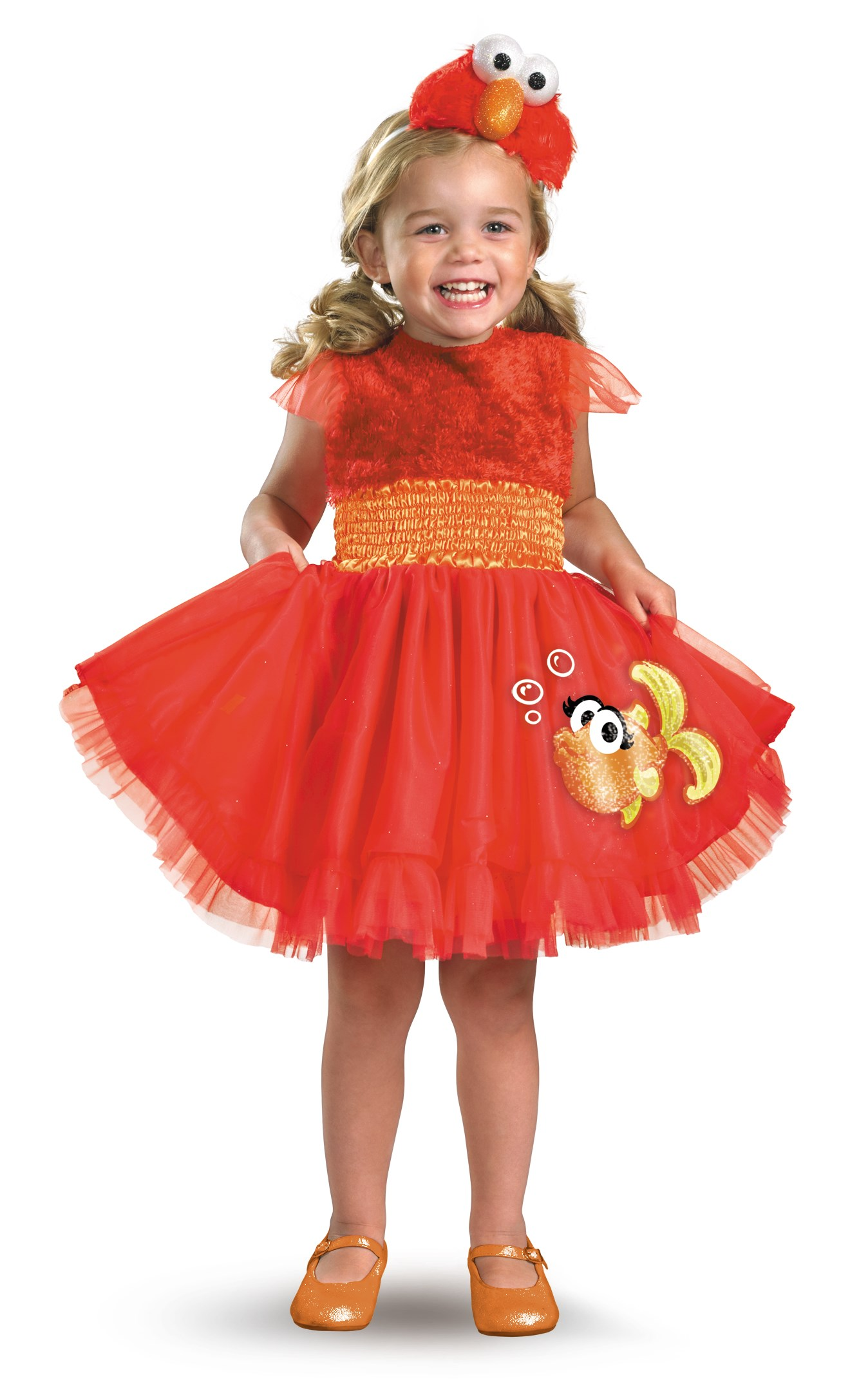 Sesame Street - Frilly Elmo Toddler / Child Costume Toddler (3T/4T)