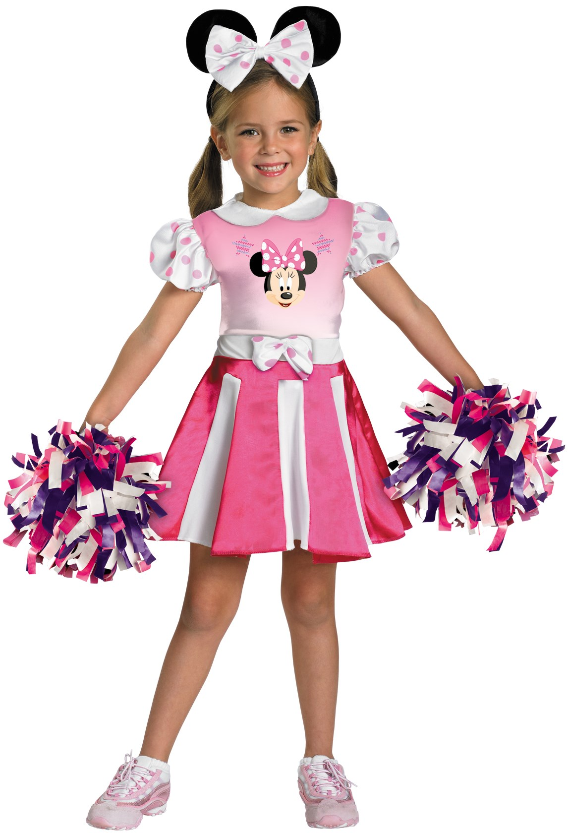Mickey Mouse Clubhouse - Minnie Mouse Cheerleader Toddler / Child Costume Toddler (2T)