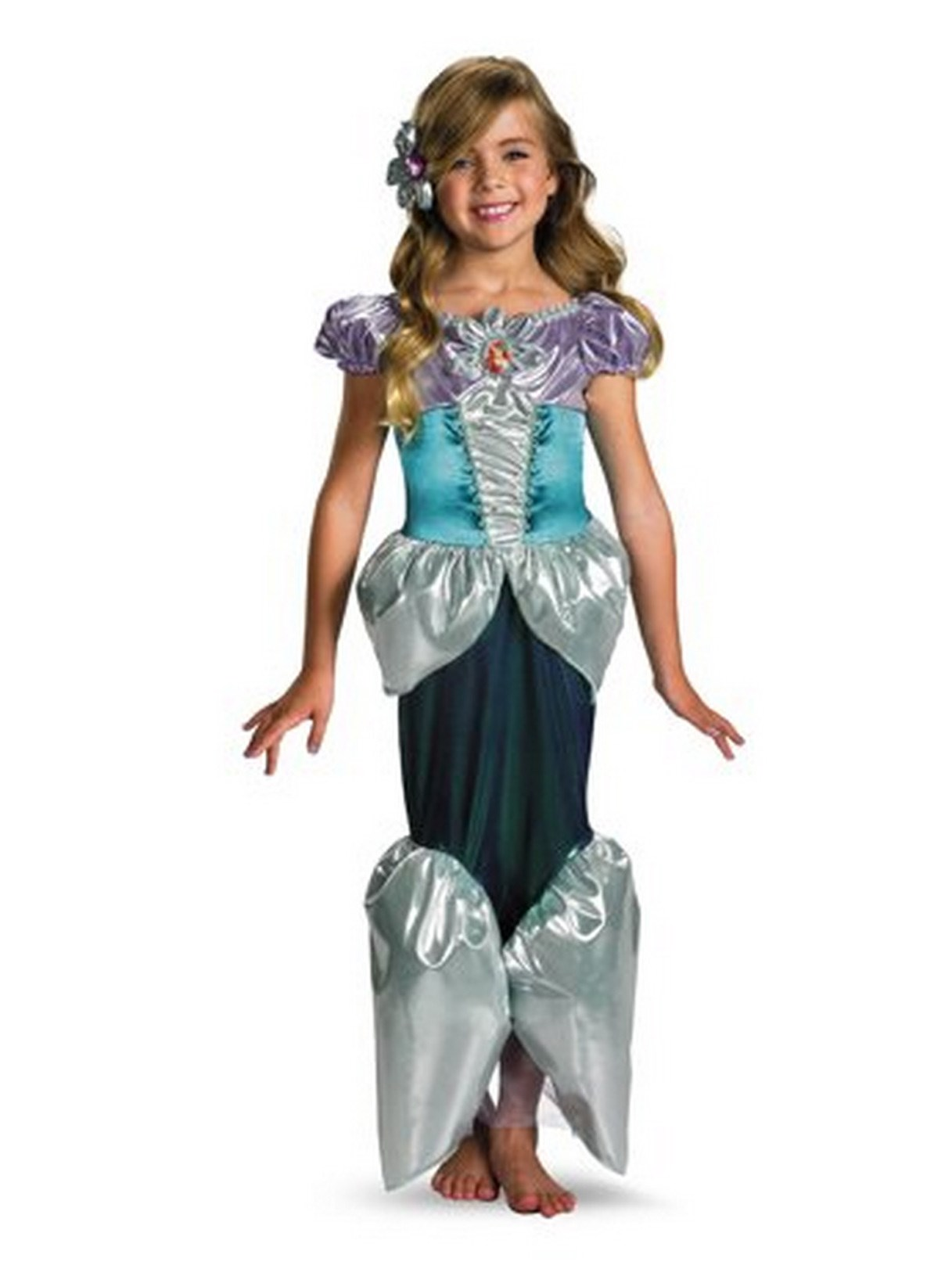 Disney Princess - Ariel Lame Deluxe Toddler / Child Costume Small (4/6x)