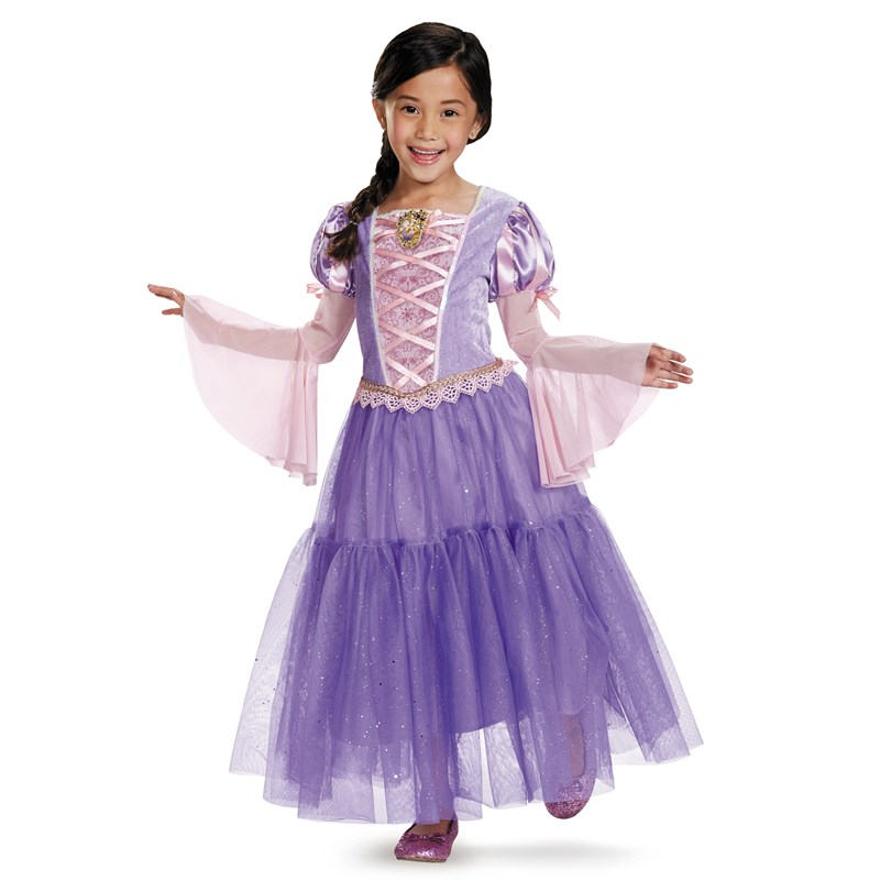 Tangled - Rapunzel Lame Deluxe Toddler / Child Costume Toddler (3T/4T)