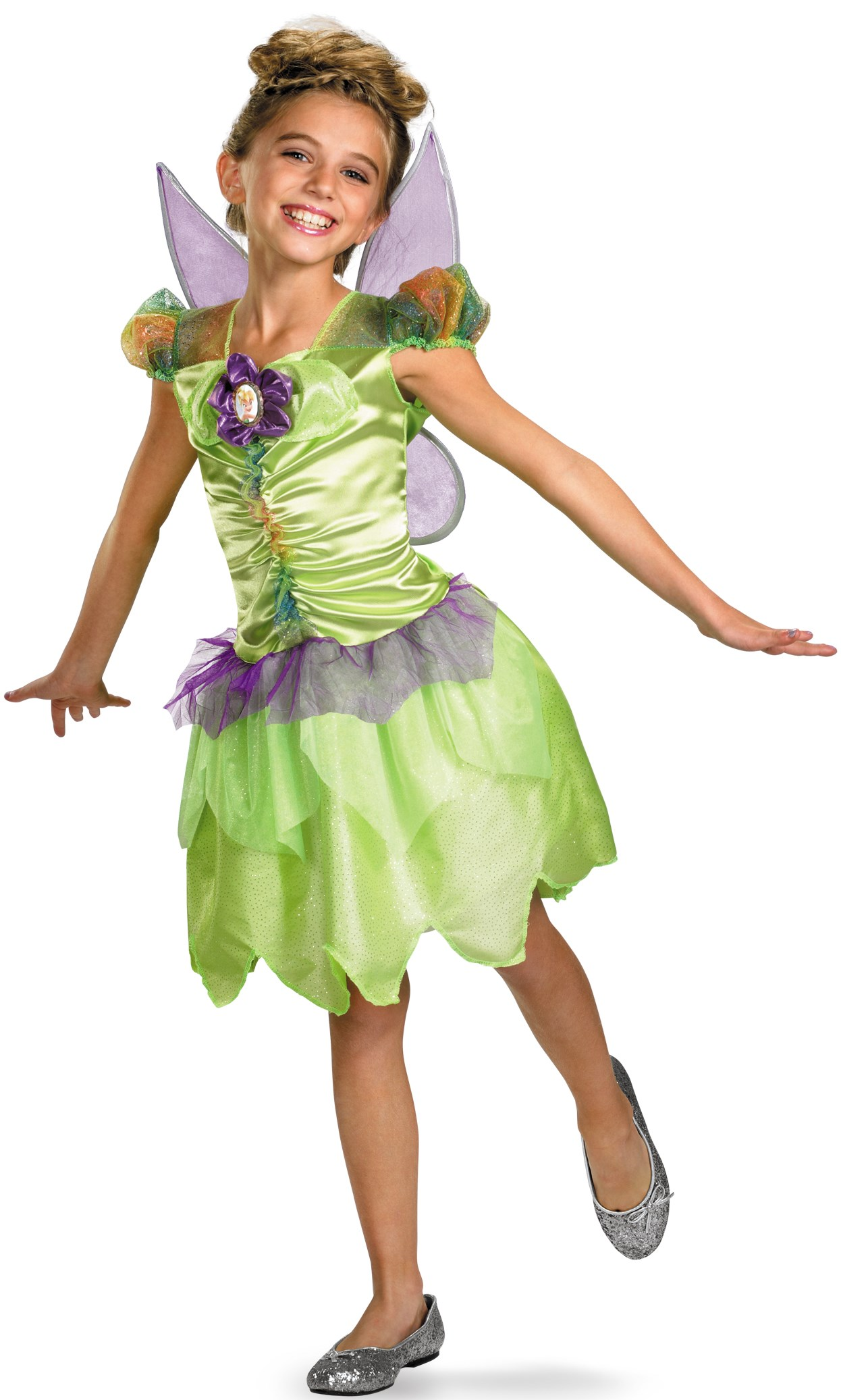 Disney Fairies - Tinker Bell Rainbow Classic Toddler / Child Costume Toddler (3T/4T)