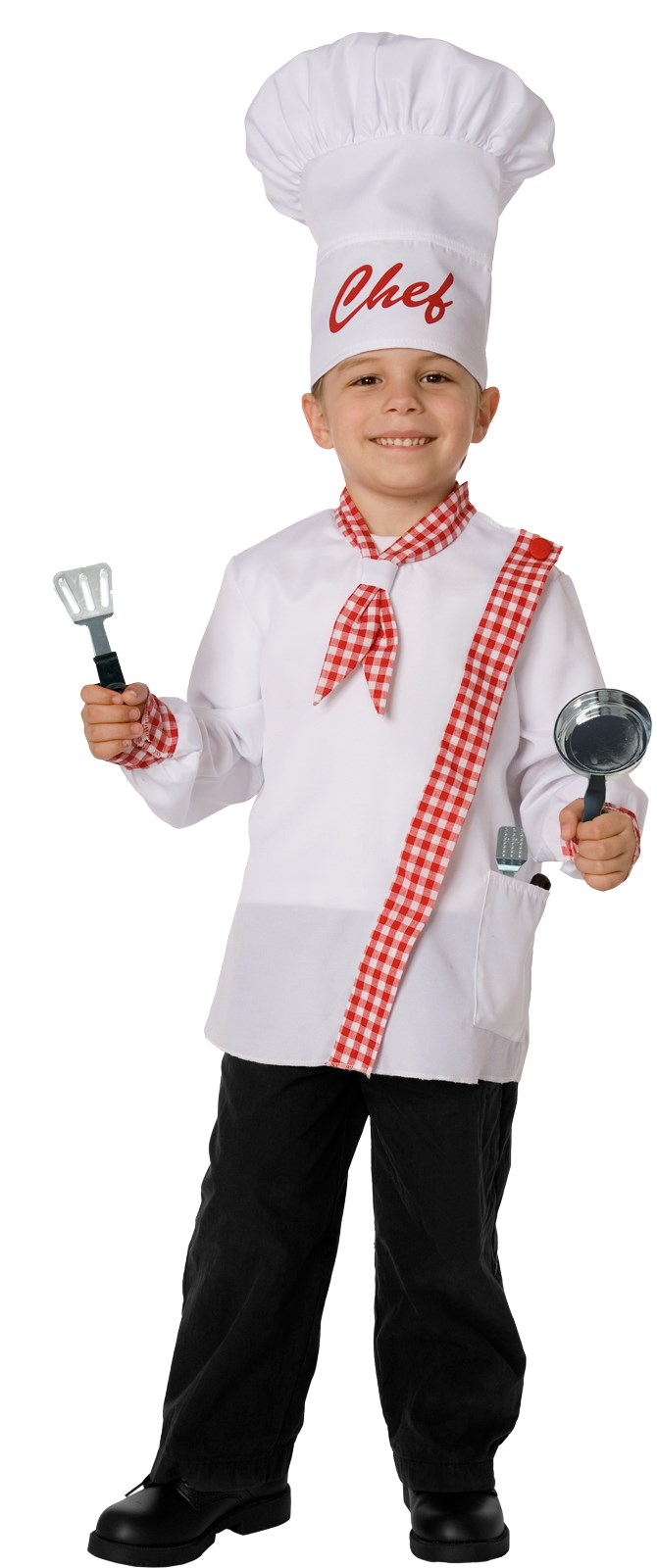 Chef Kids Costume Kit Fits Sizes 4 to 8