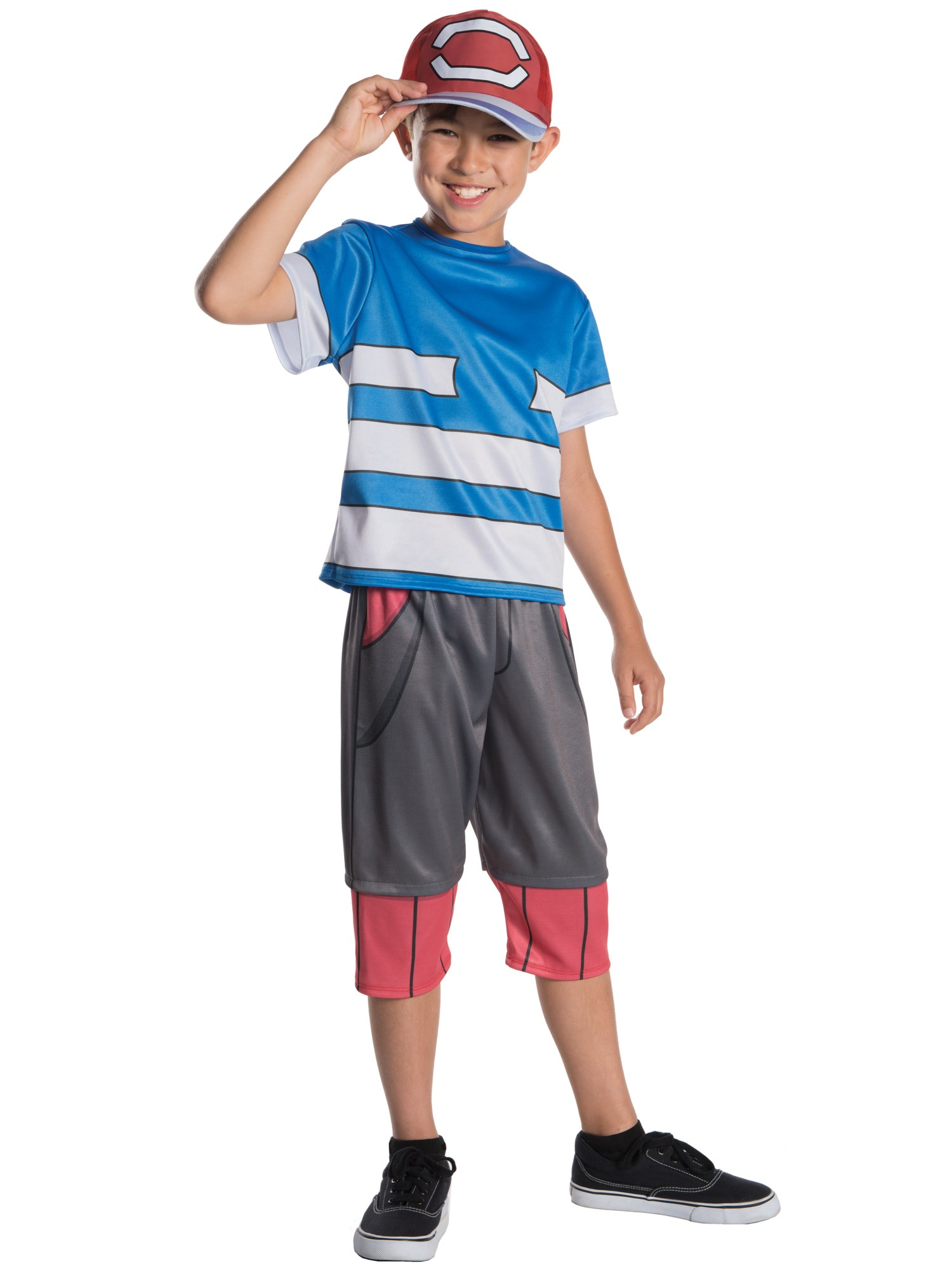 Pokemon - Ash Ketchum Child Costume Small
