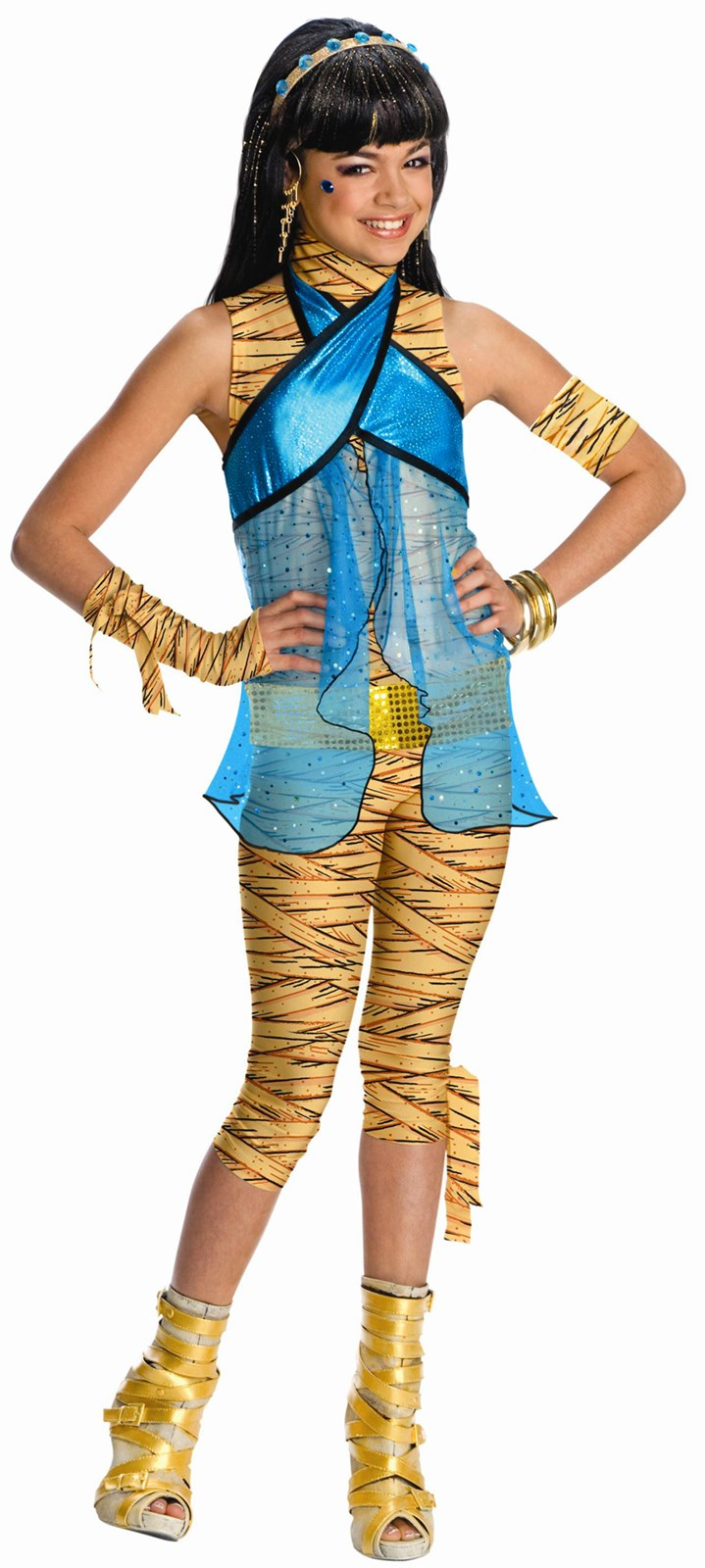 Monster High - Cleo de Nile Child Costume Large