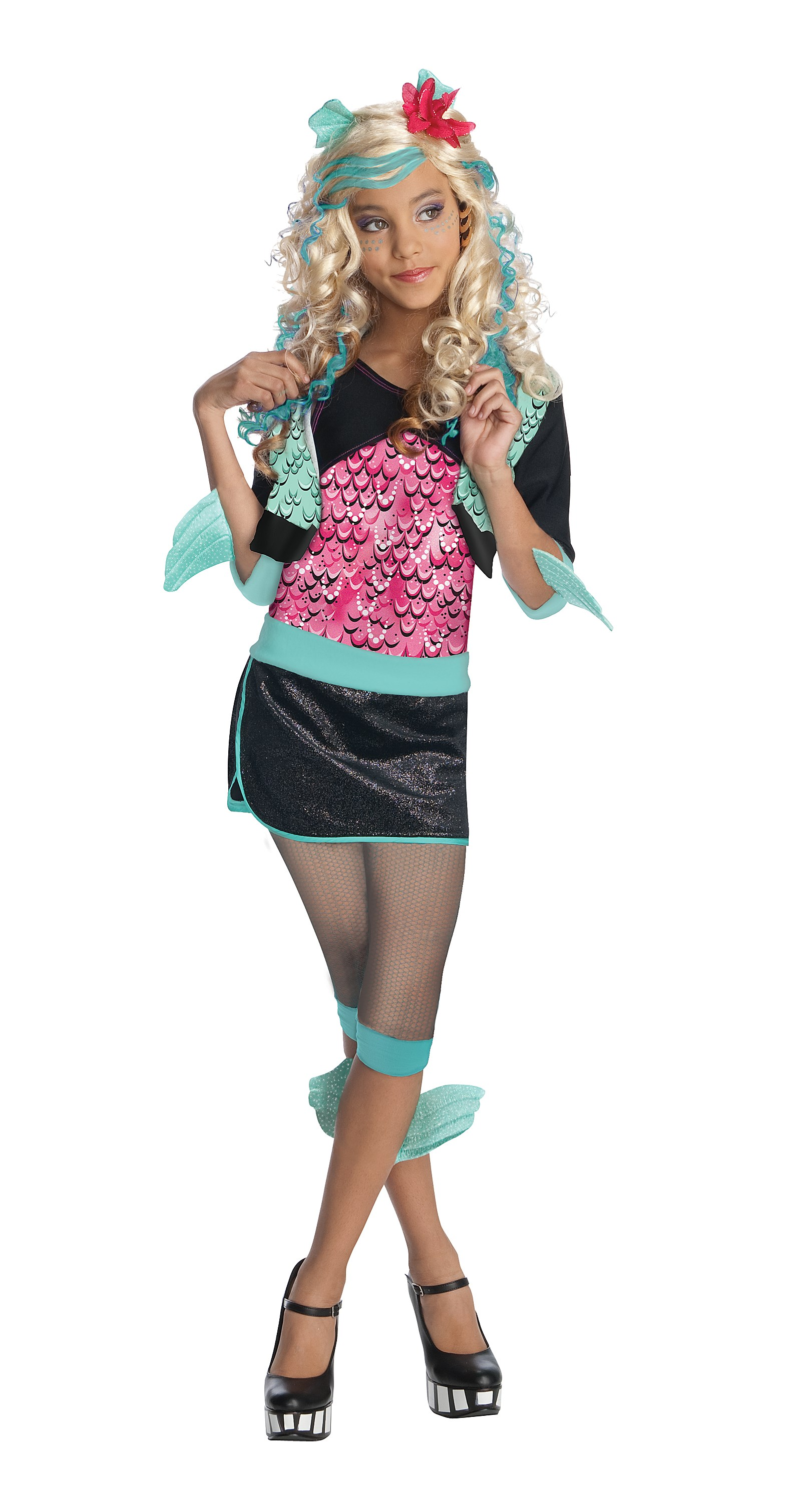 Monster High - Lagoona Blue Child Costume Medium