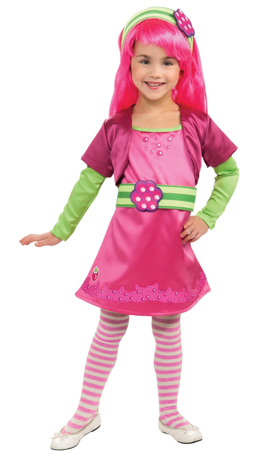 Strawberry Shortcake - Raspberry Torte Deluxe Toddler / Child Costume Toddler