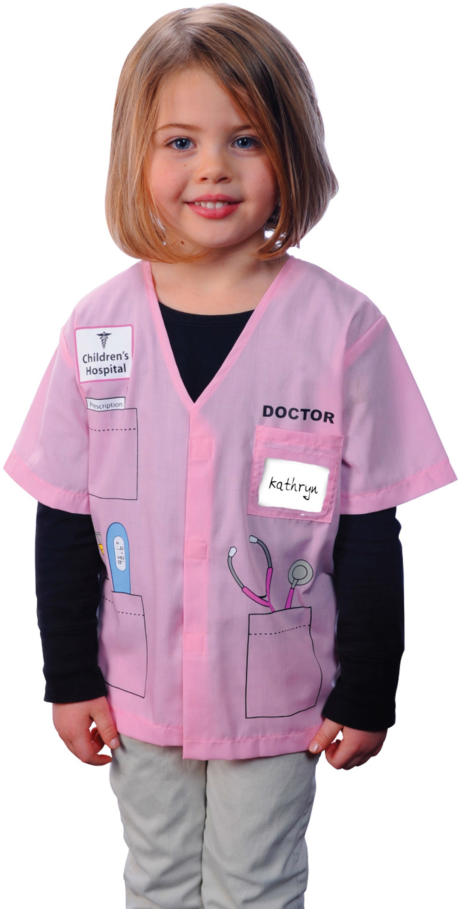 My First Career Gear - Doctor (Pink) Toddler Costume Toddler 3/5