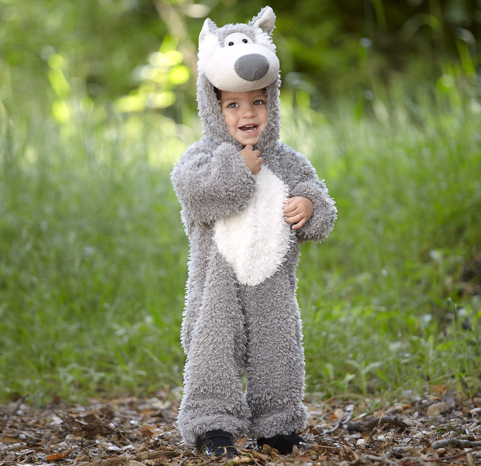 Little Wolf Toddler Costume 4