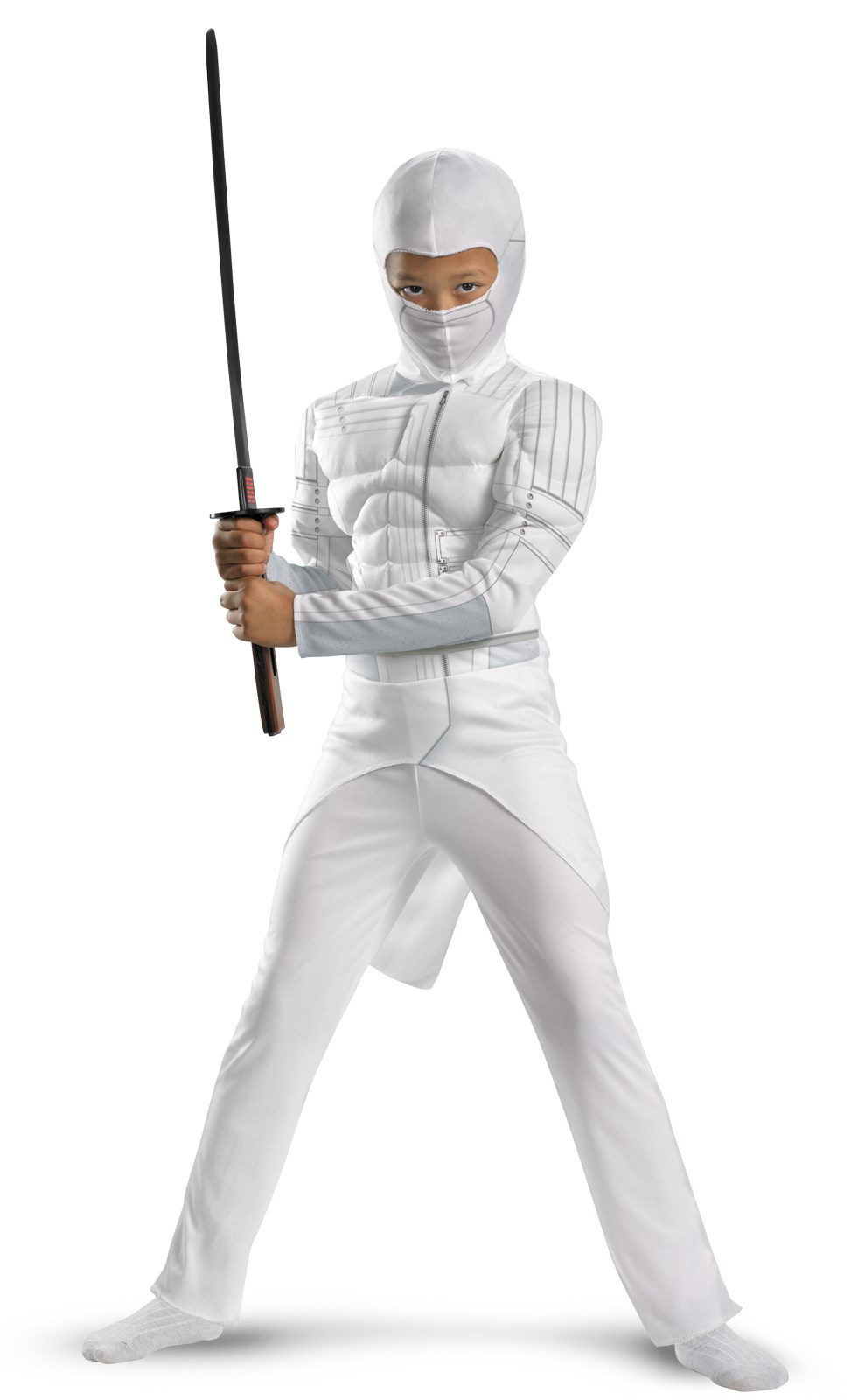 G.I. Joe Retaliation Storm Shadow Classic Muscle Chest Kids Costume 10/12