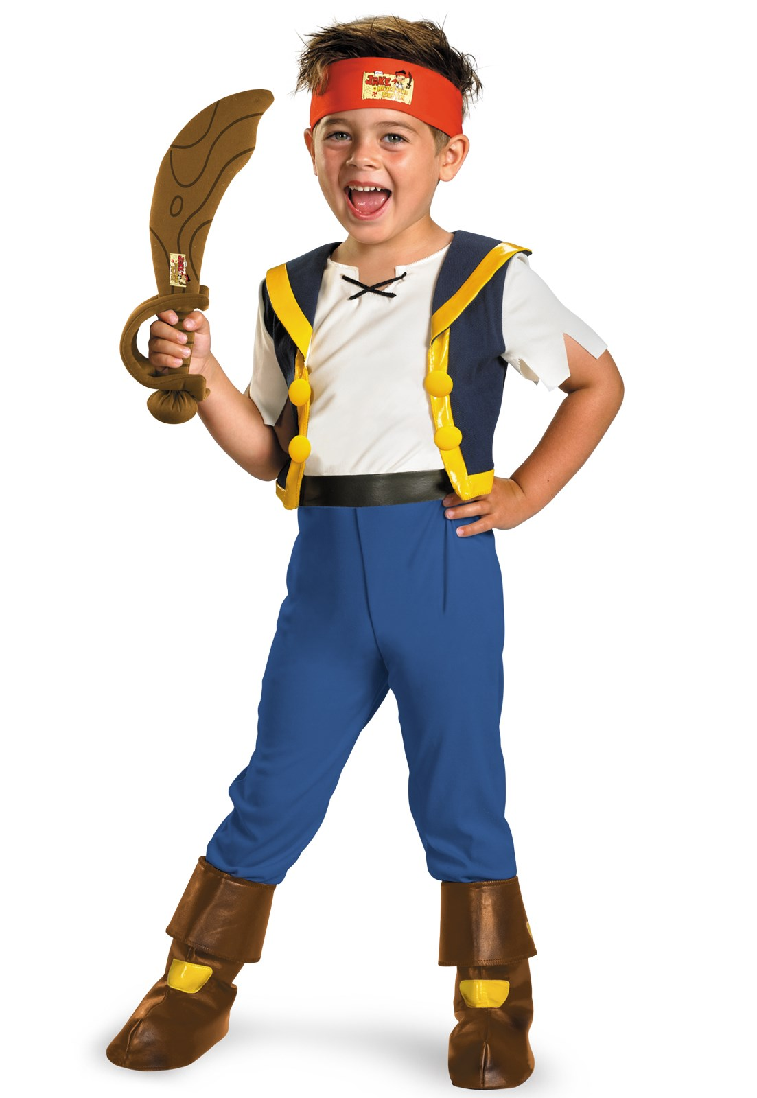 Disney Jake and the Never Land Pirates Deluxe Jake Child Costume 4/6