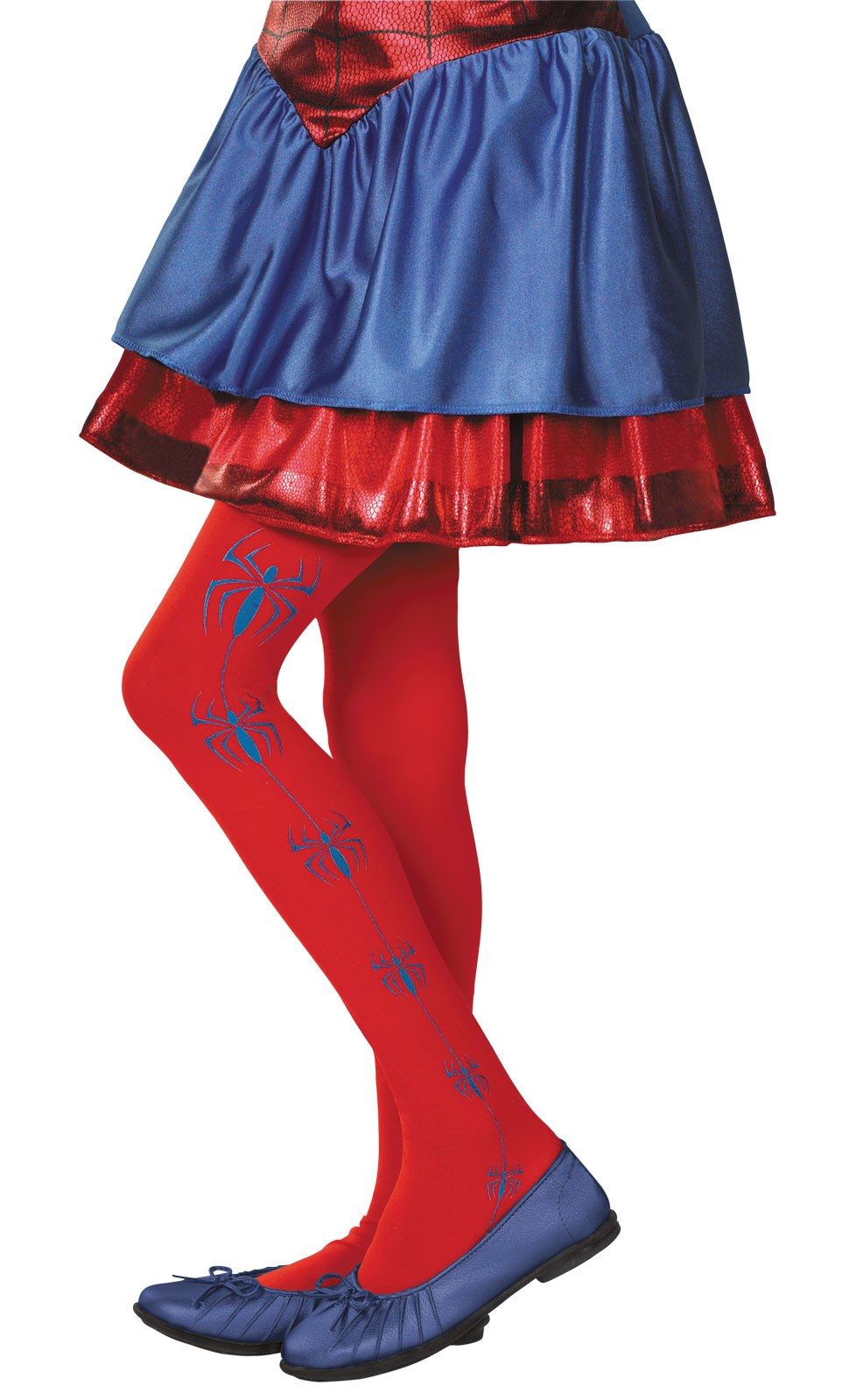 Spider-Girl Kids Tights One-Size
