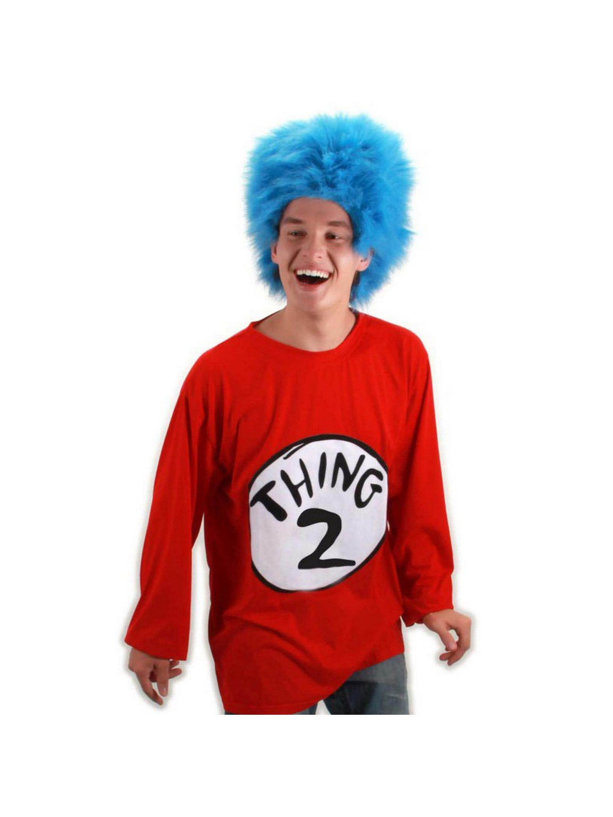 Dr. Seuss Thing 2 Adult Costume Kit Small/Medium