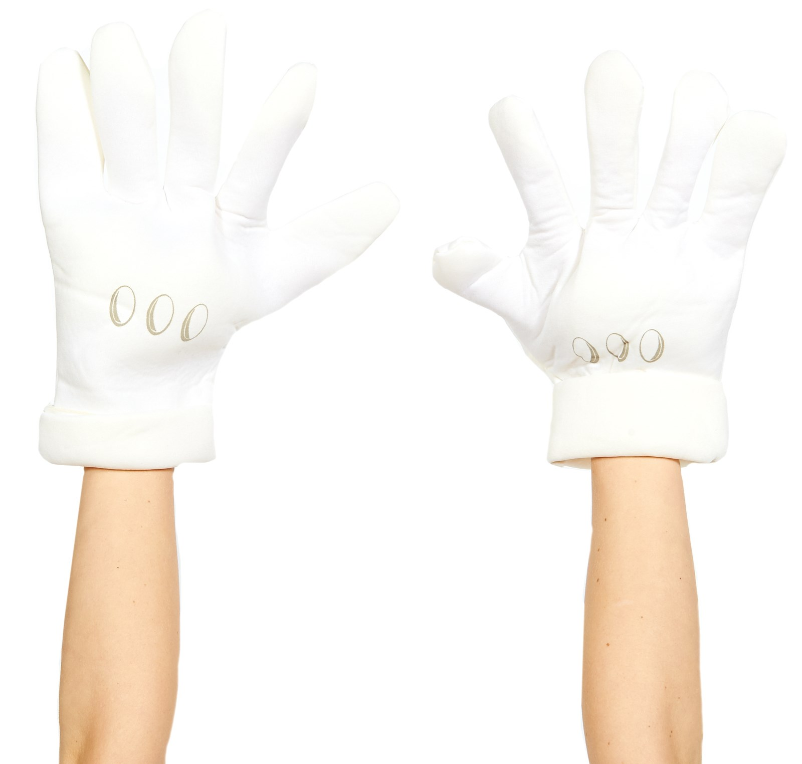 Super Mario Bros. Deluxe Adult Gloves One-Size