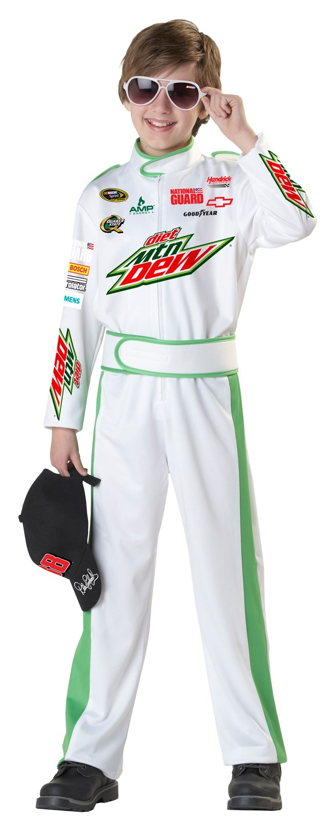 NASCAR Dale Earnhardt Jr Kids Costume Small (6-8)
