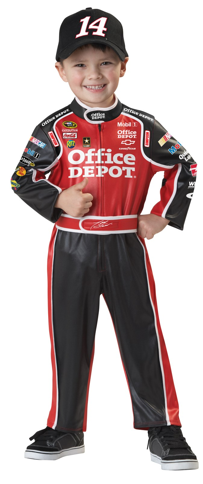 NASCAR Tony Stewart Toddler Costume 3-4