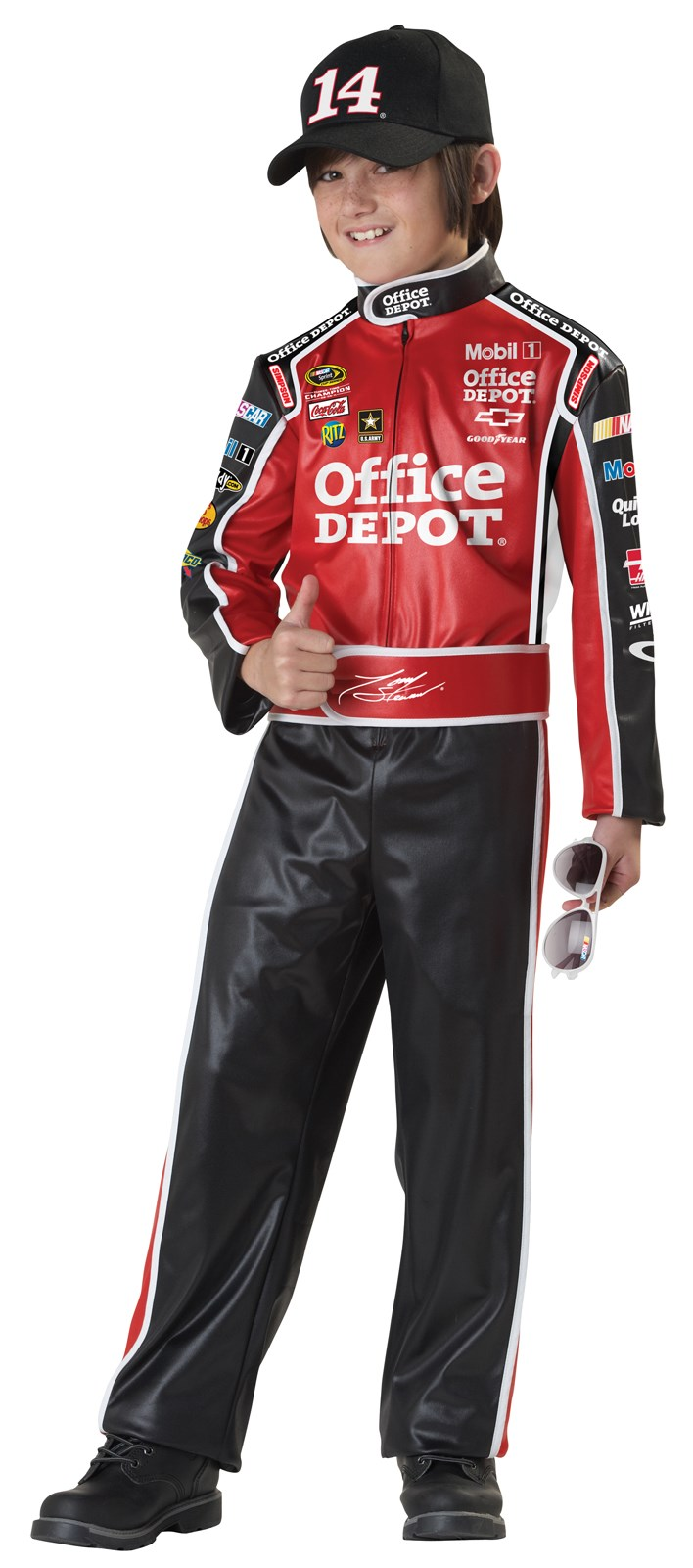NASCAR Tony Stewart Kids Costume Medium (8-10)