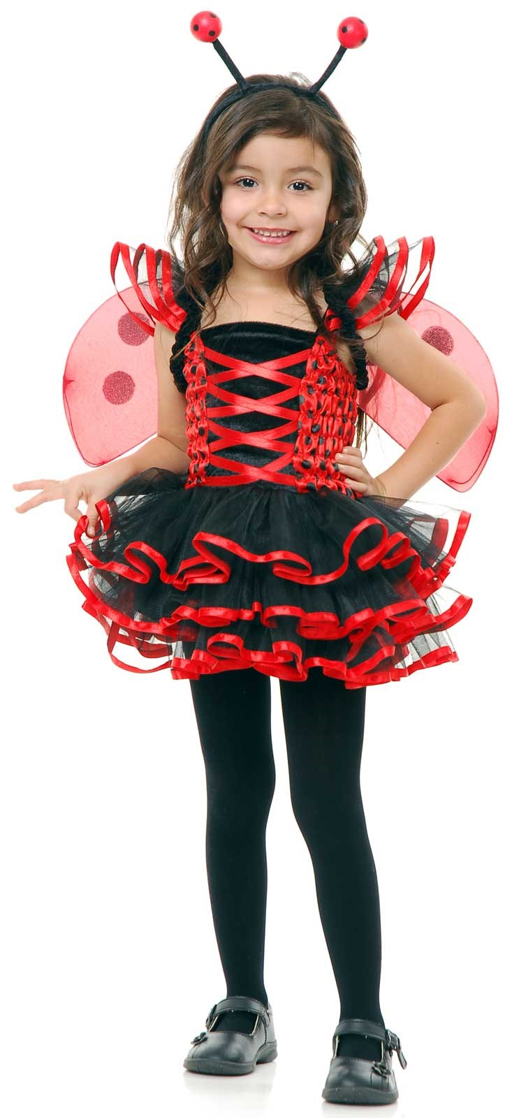 Lady Bug Cutie Toddler Costume 2/4T