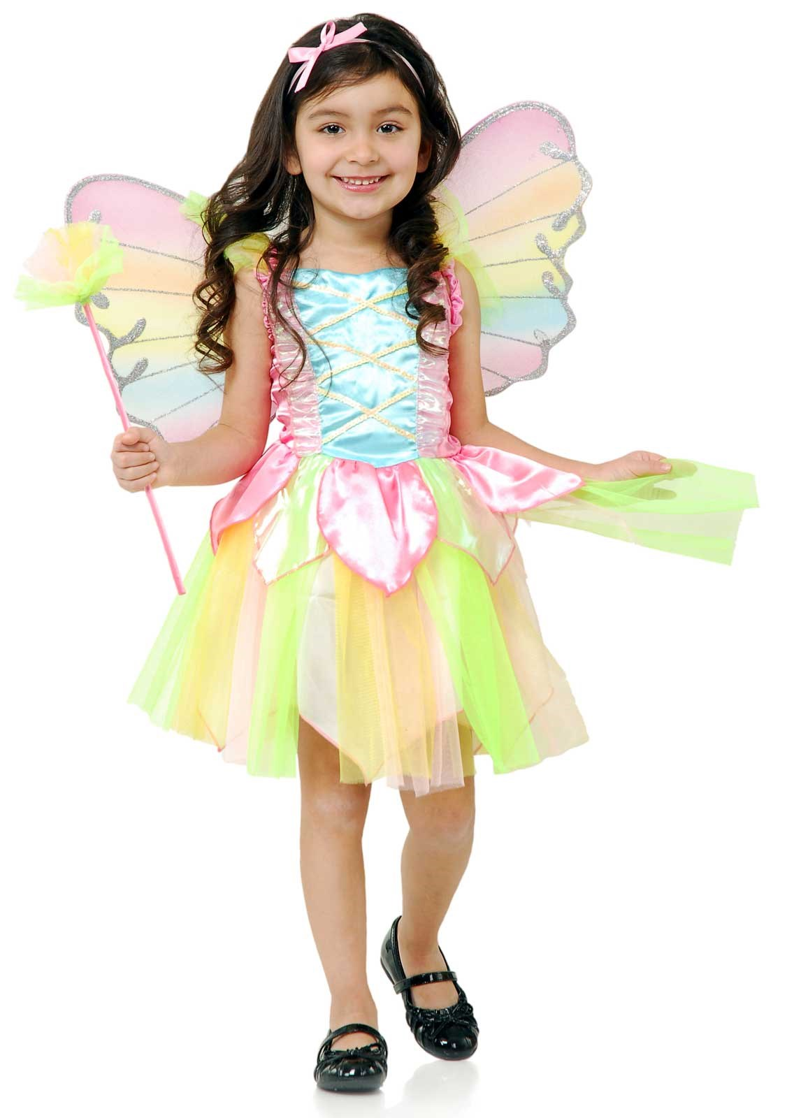 Rainbow Princess Fairy Toddler Costume 2/4T