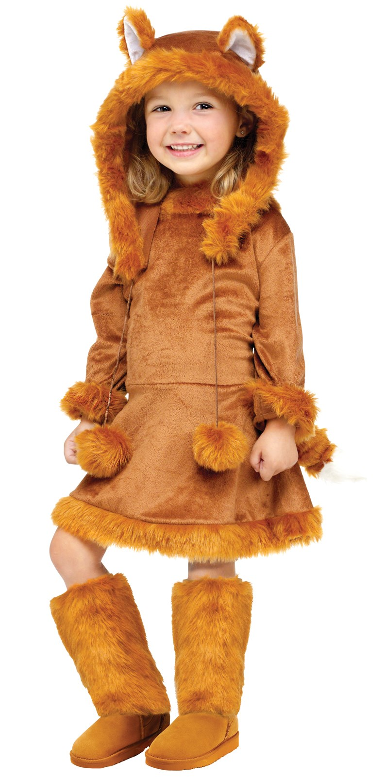 Sweet Fox Kids Costume Small (4/6)