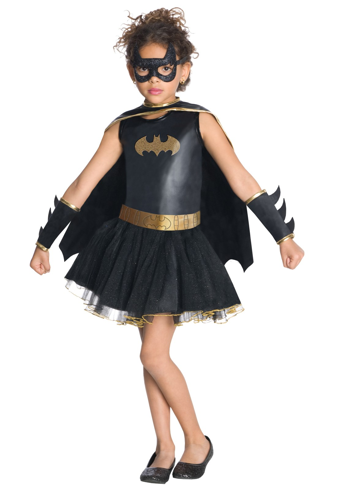 Batgirl Tutu Kids Costume Small (4-6)